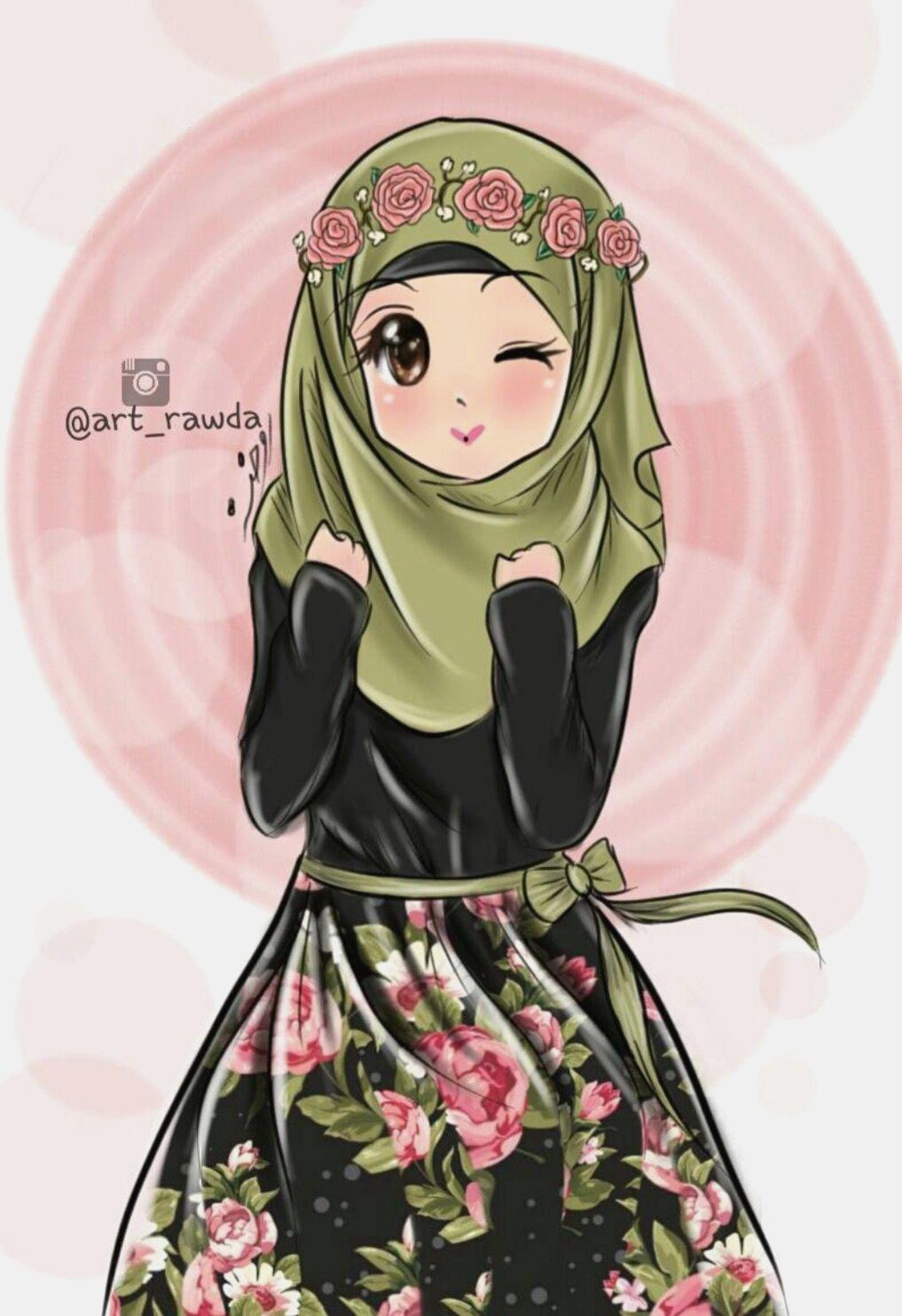 Anime Hijab Wallpapers Wallpaper Cave