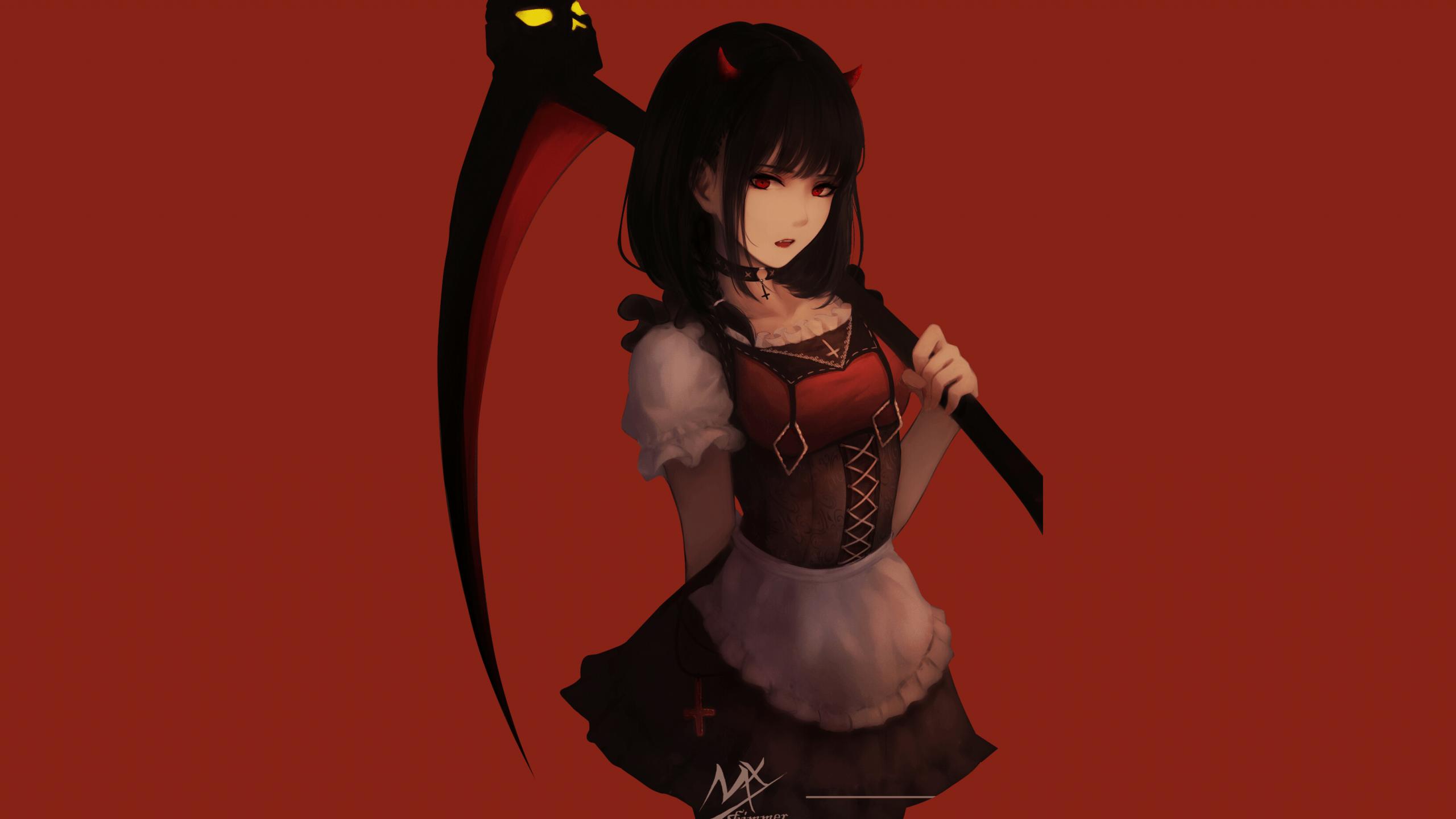 Black And Red Anime Wallpaper Hd Gambarku