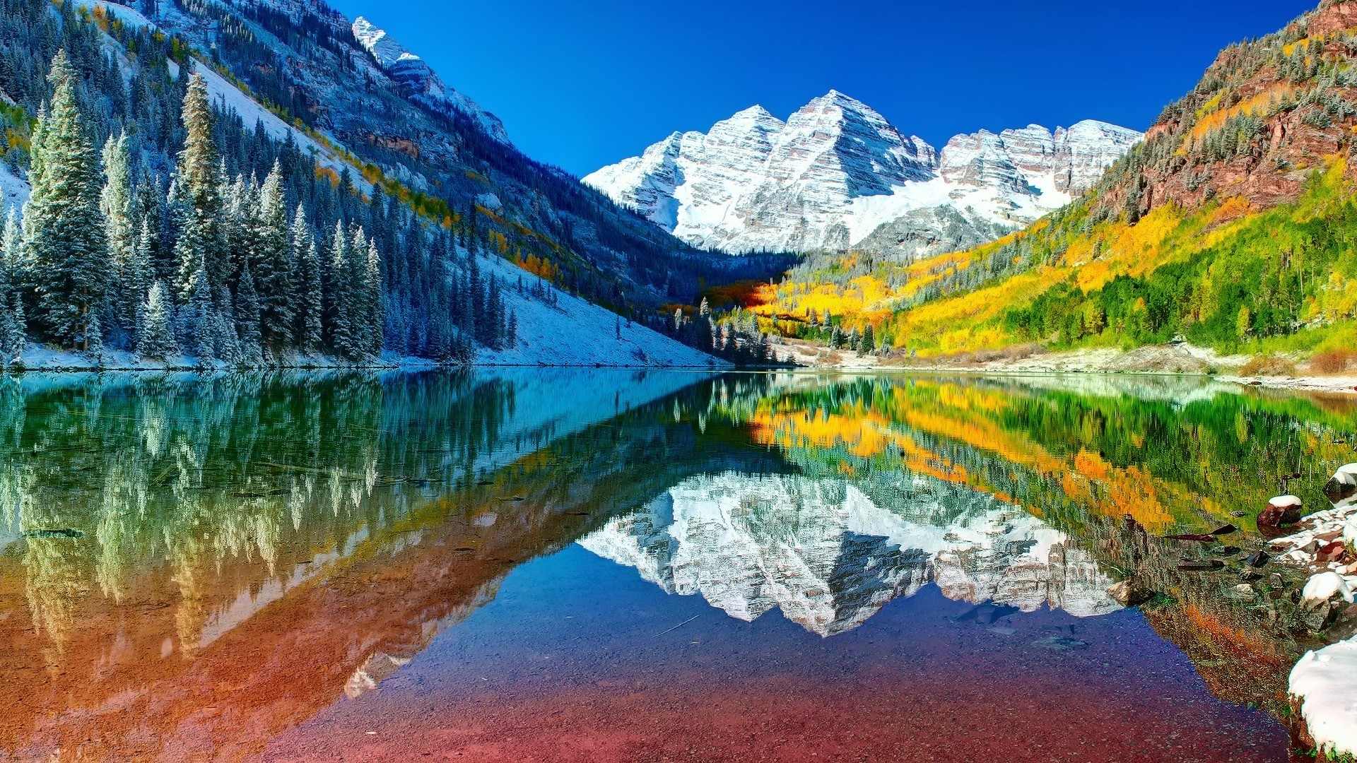 Rocky Mountains Landscape Wallpapers