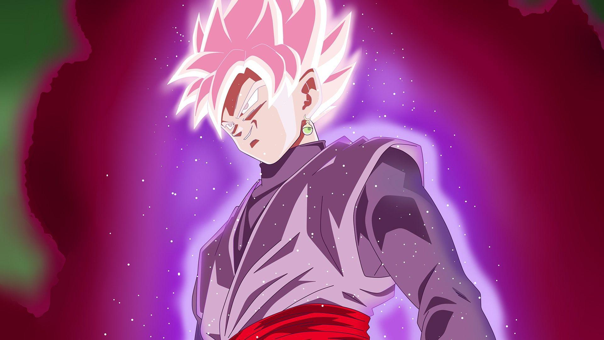 Goku Black Rose Desktop Wallpapers Wallpaper Cave