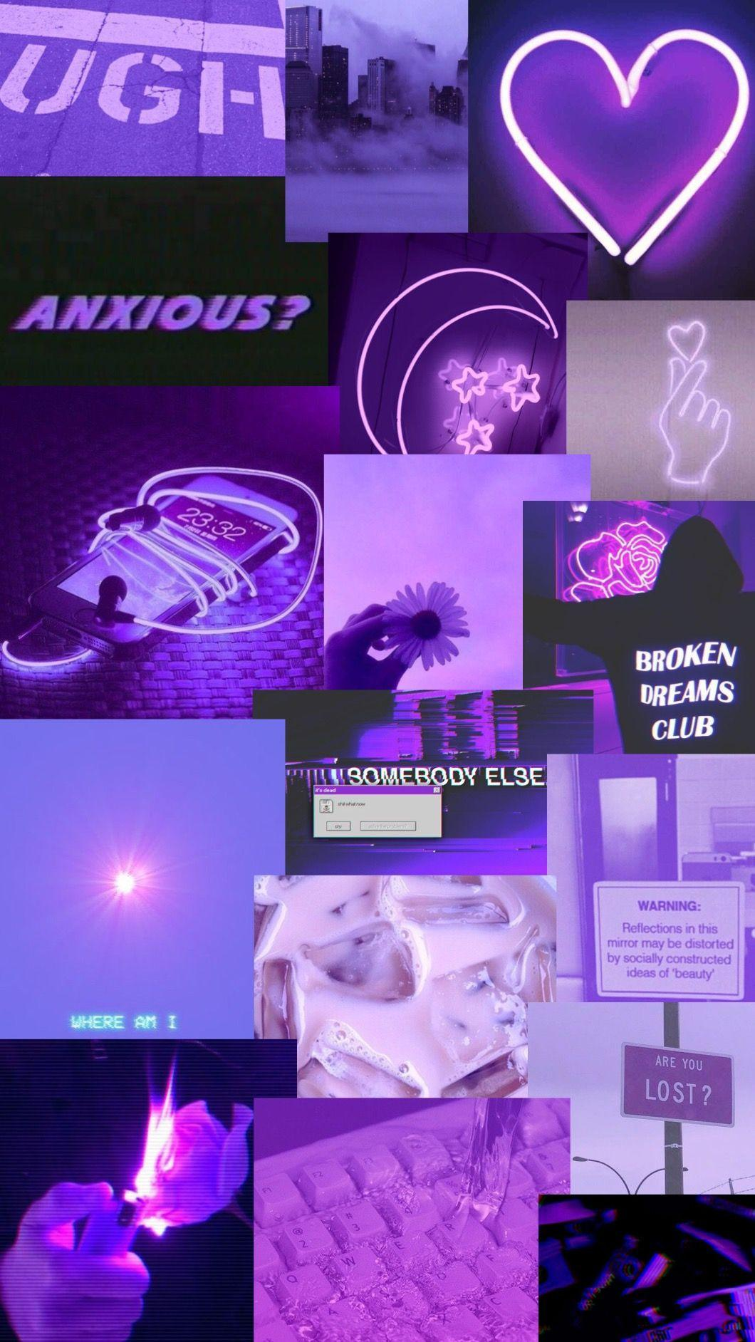 Trippy Aesthetic Purple Wallpapers - Wallpaper Cave