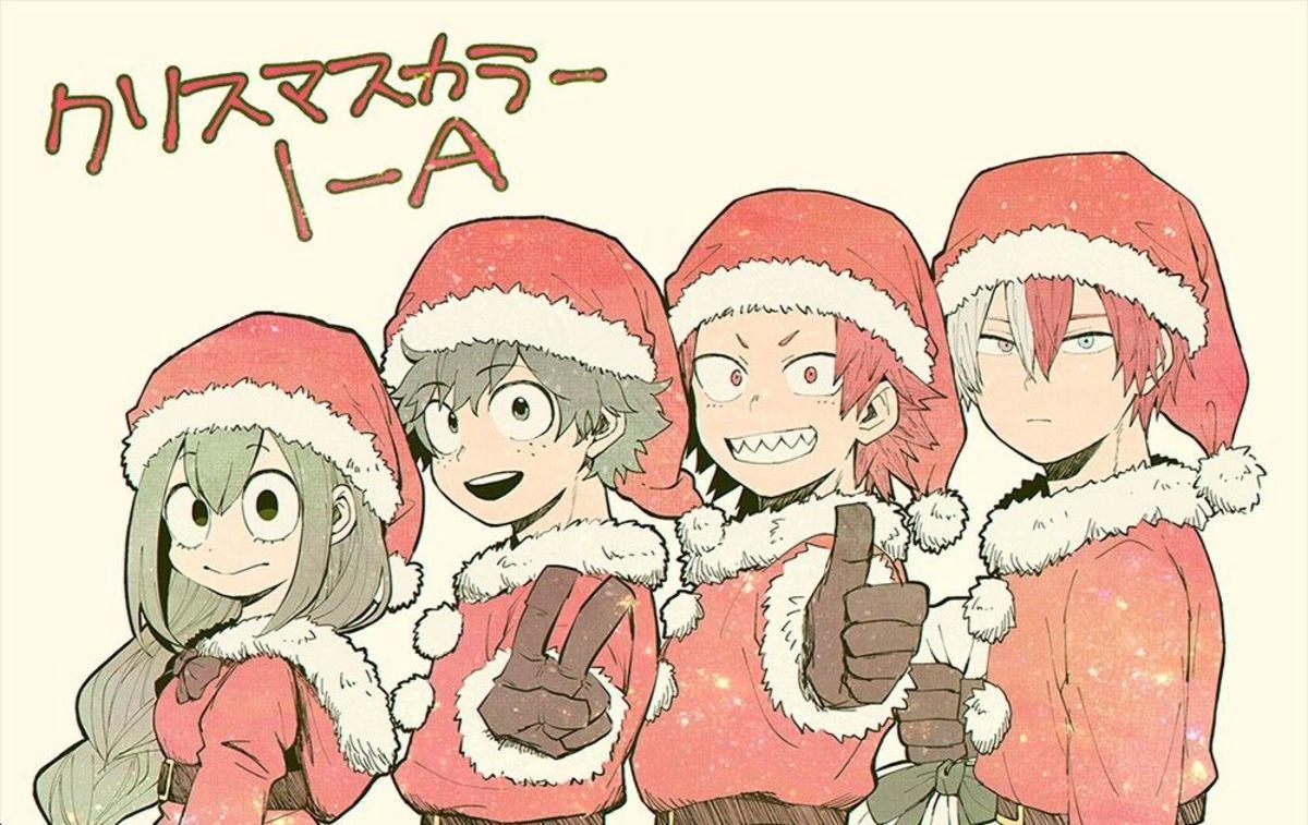 My Hero Academia Christmas Hd Wallpapers Wallpaper Cave