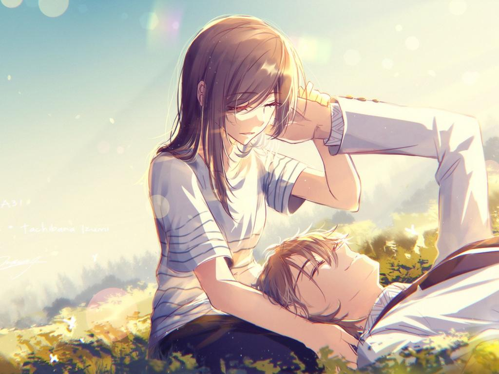 The Cutest Anime Couple Wallpapers Wallpaper Cave