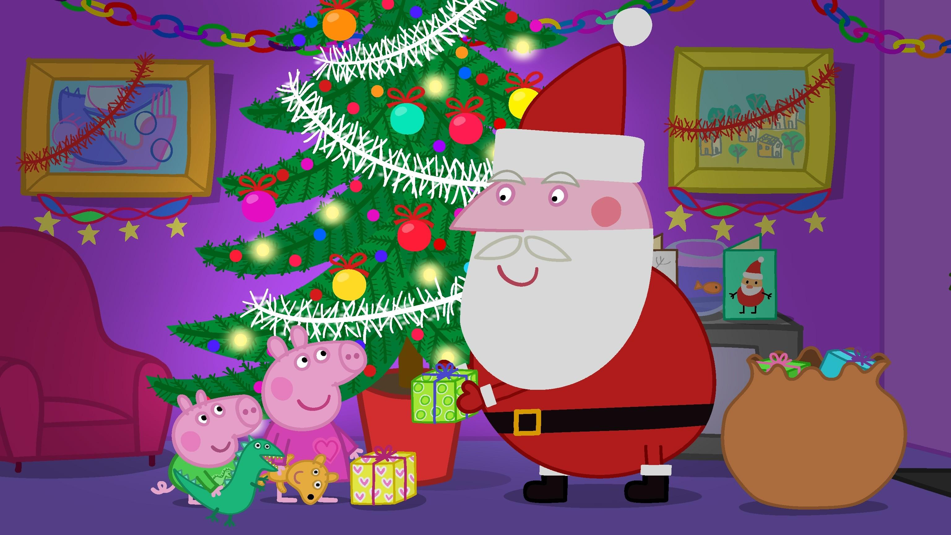57+ Christmas Pig Wallpapers