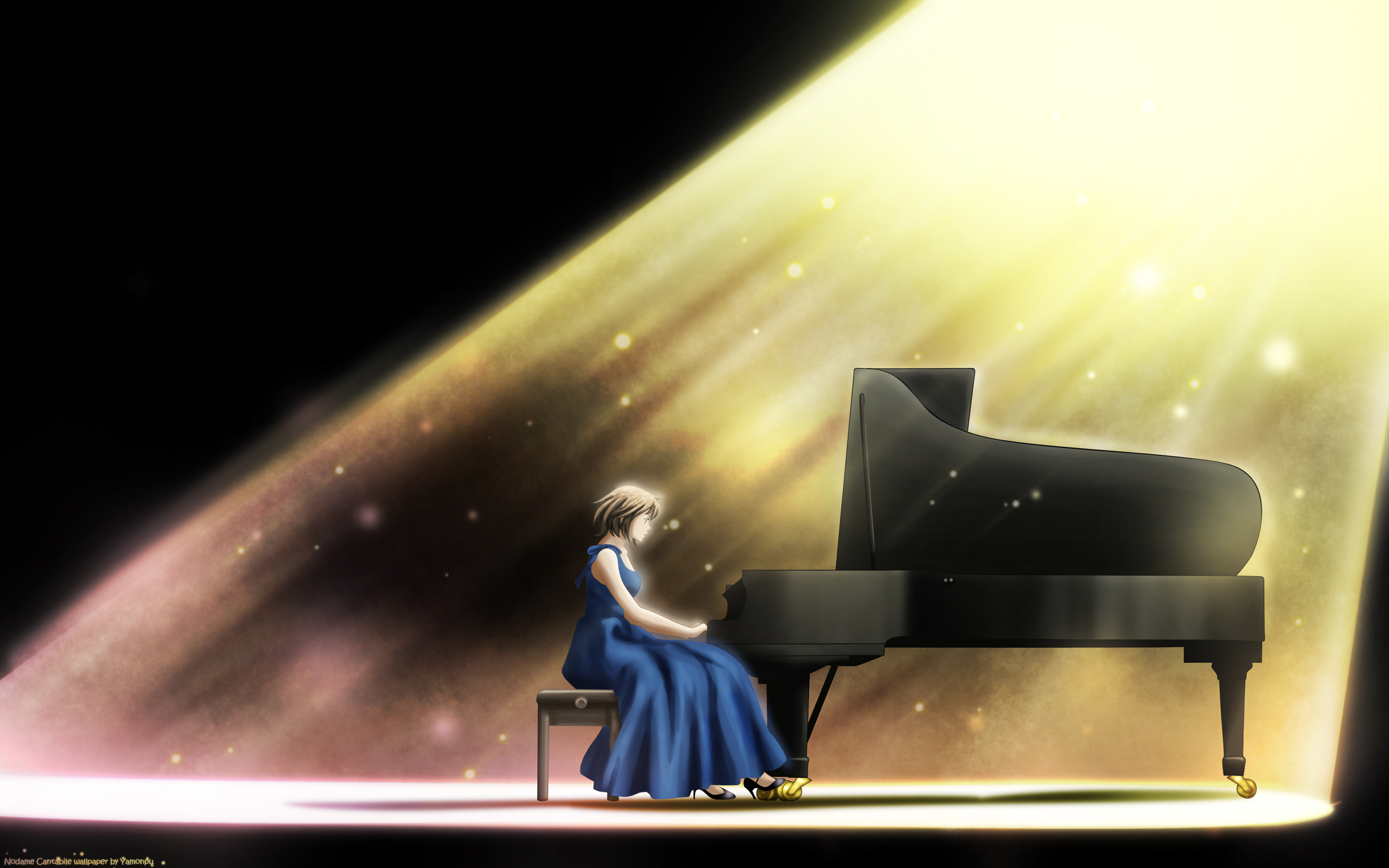 Girls With Piano Anime Wallpapers Wallpaper Cave