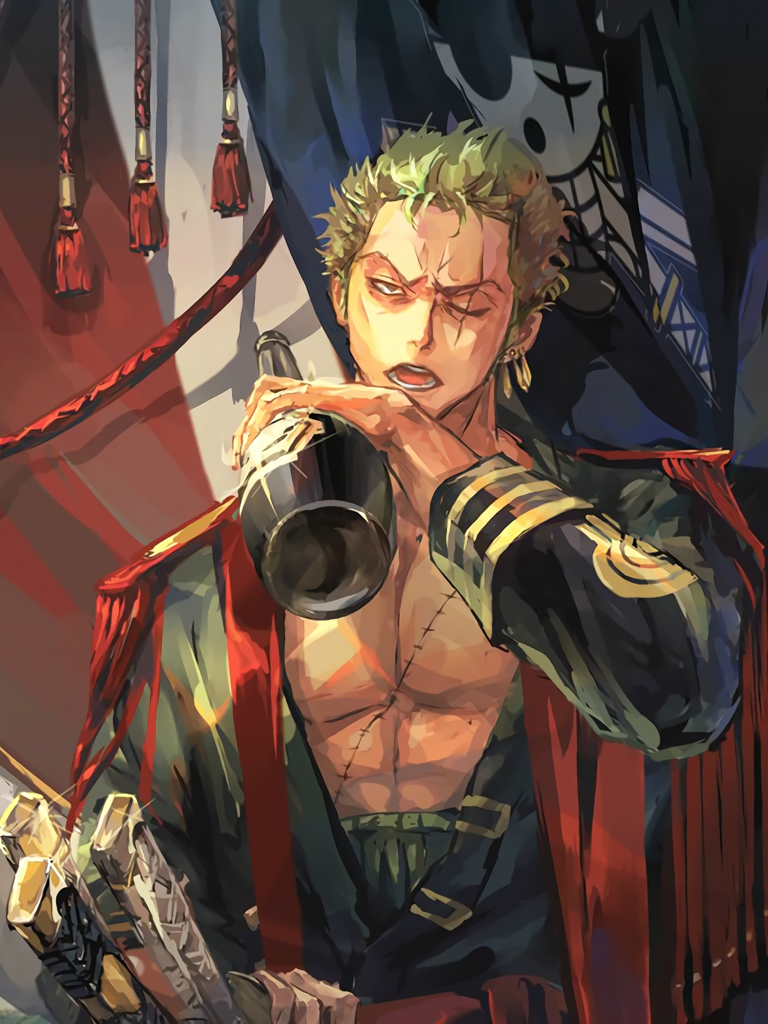 Zoro One Piece Phone Wallpapers Wallpaper Cave