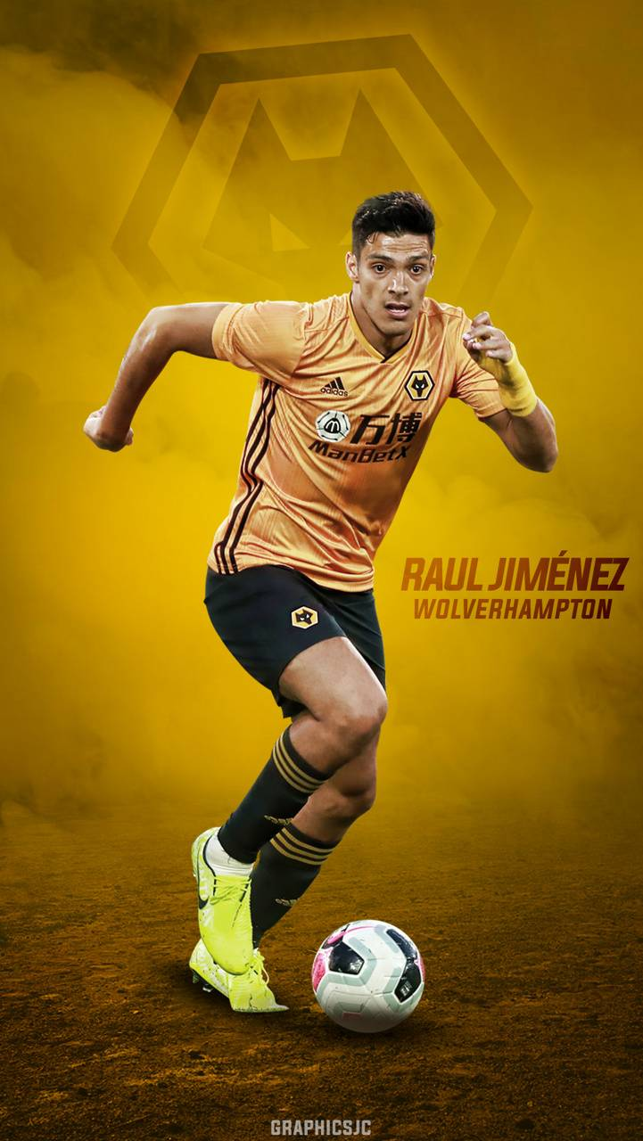 Raul Jimenez Wolves wallpapers by JorgeBVB