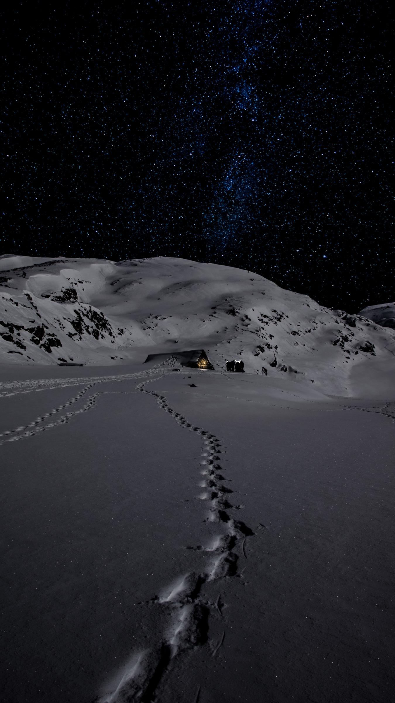 Winter Snowy Night Wallpapers ...