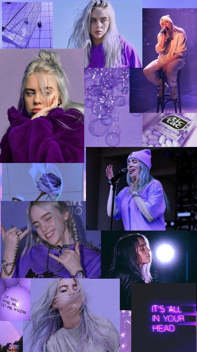 Billie Eilish Aesthetic Blue Wallpapers Wallpaper Cave