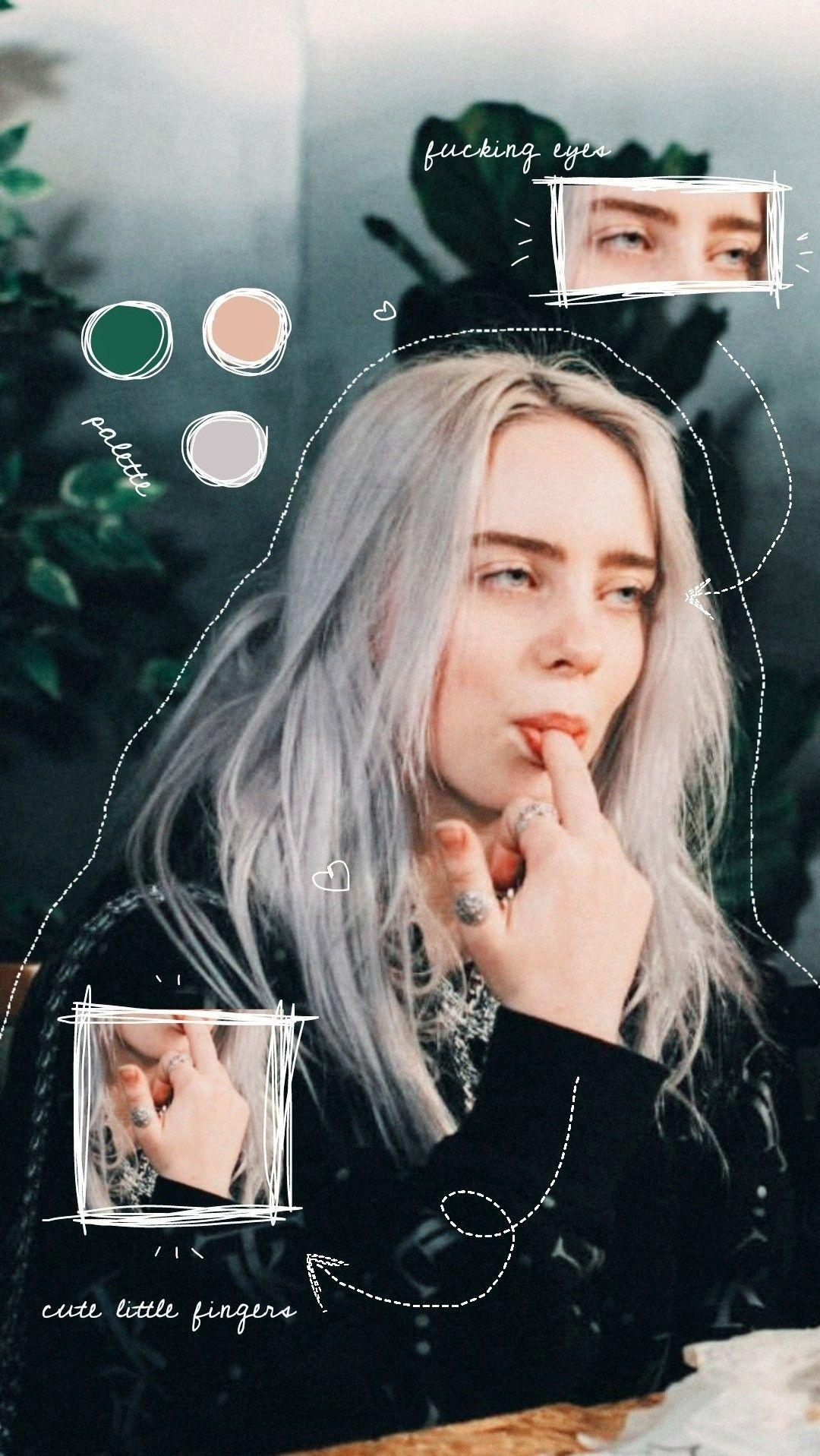 cute billie eilish wallpapers wallpaper cave