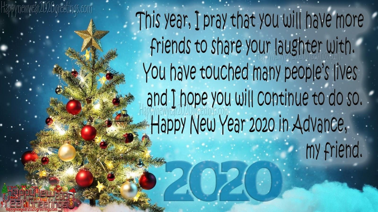 Happy New Year 2020 Advance Wallpapers - Wallpaper Cave