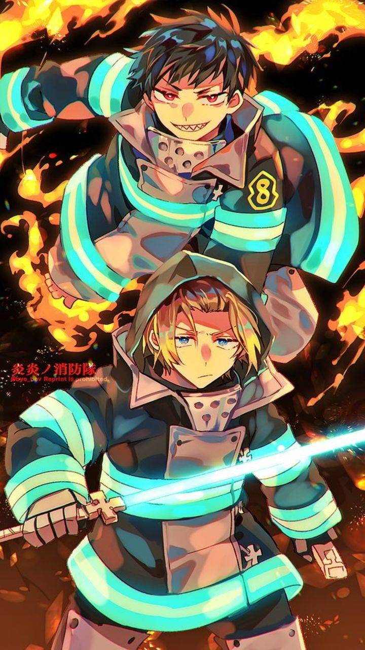 Fire Force iPhone HD Wallpapers - Wallpaper Cave