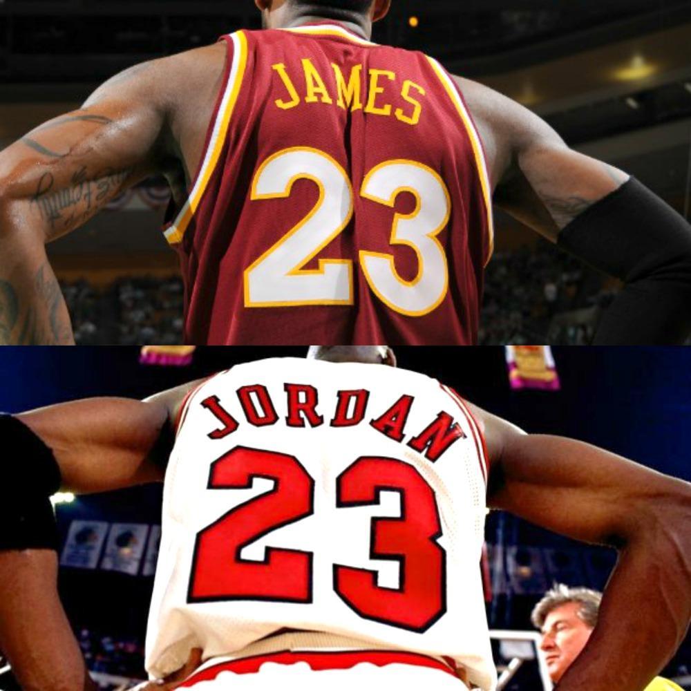 Michael Jordan And Lebron James Wallpapers Wallpaper Cave