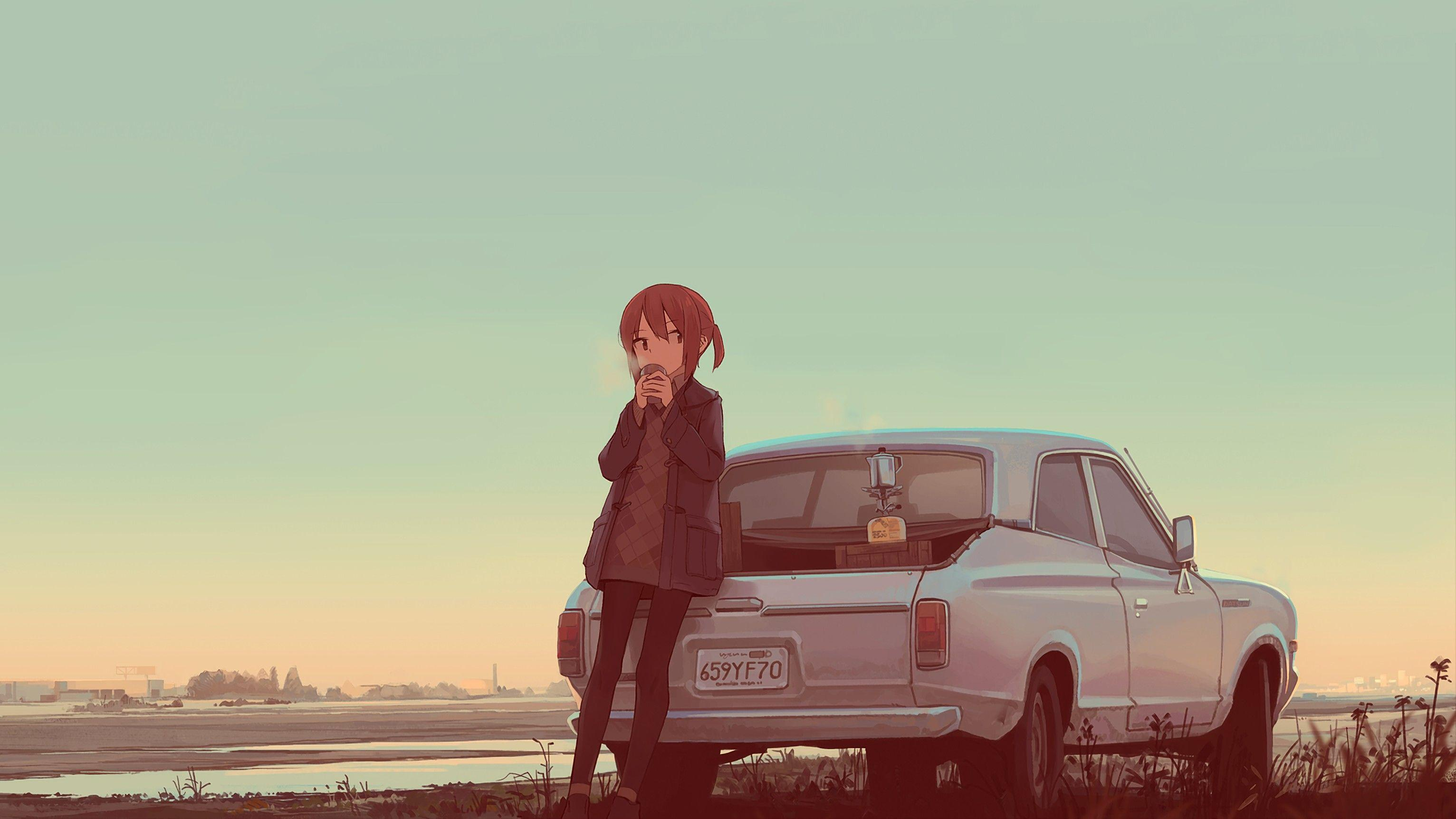 Anime Cars Aesthetic Wallpapers - Wallpaper Cave