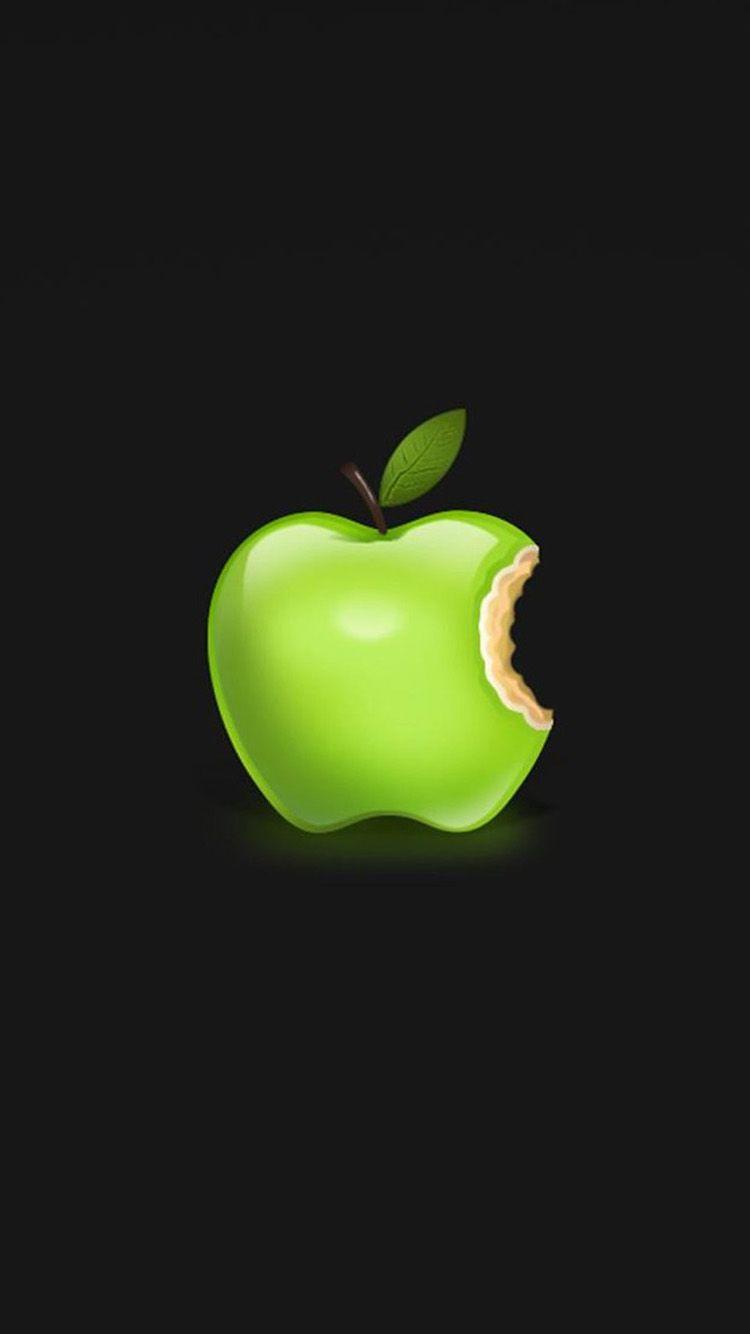 Iphone Green Apple Hd Wallpapers Wallpaper Cave