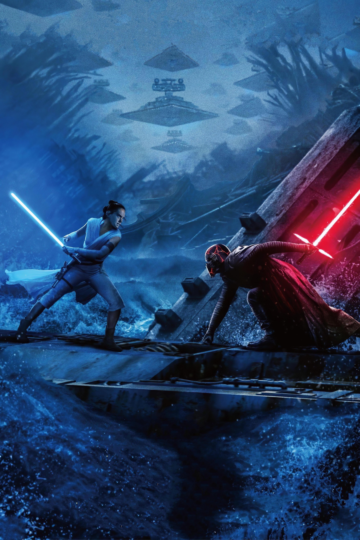 Rise Of Skywalker Star Destroyers Phone Wallpapers