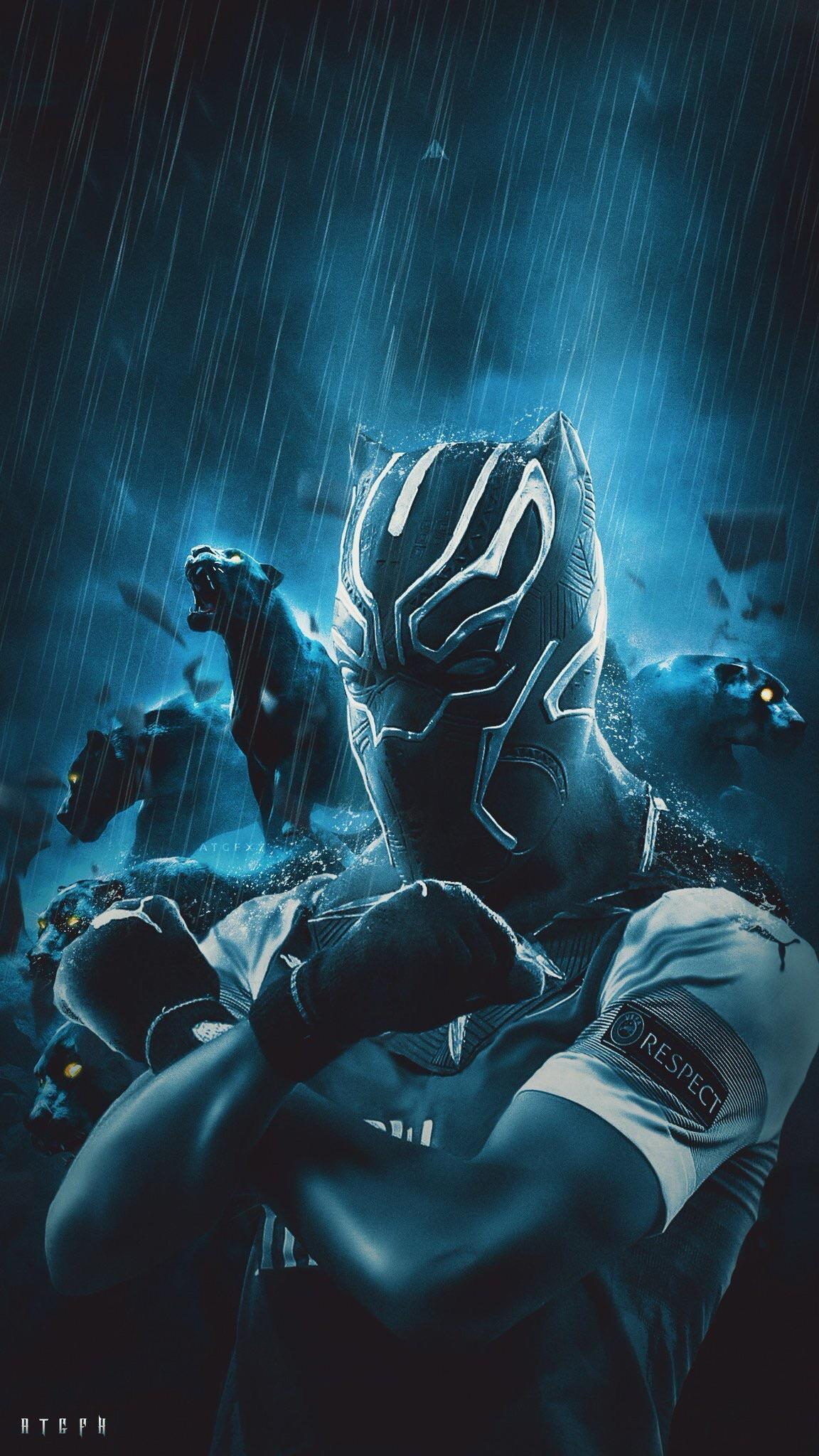 Wakanda Forever Sign Wallpapers Wallpaper Cave