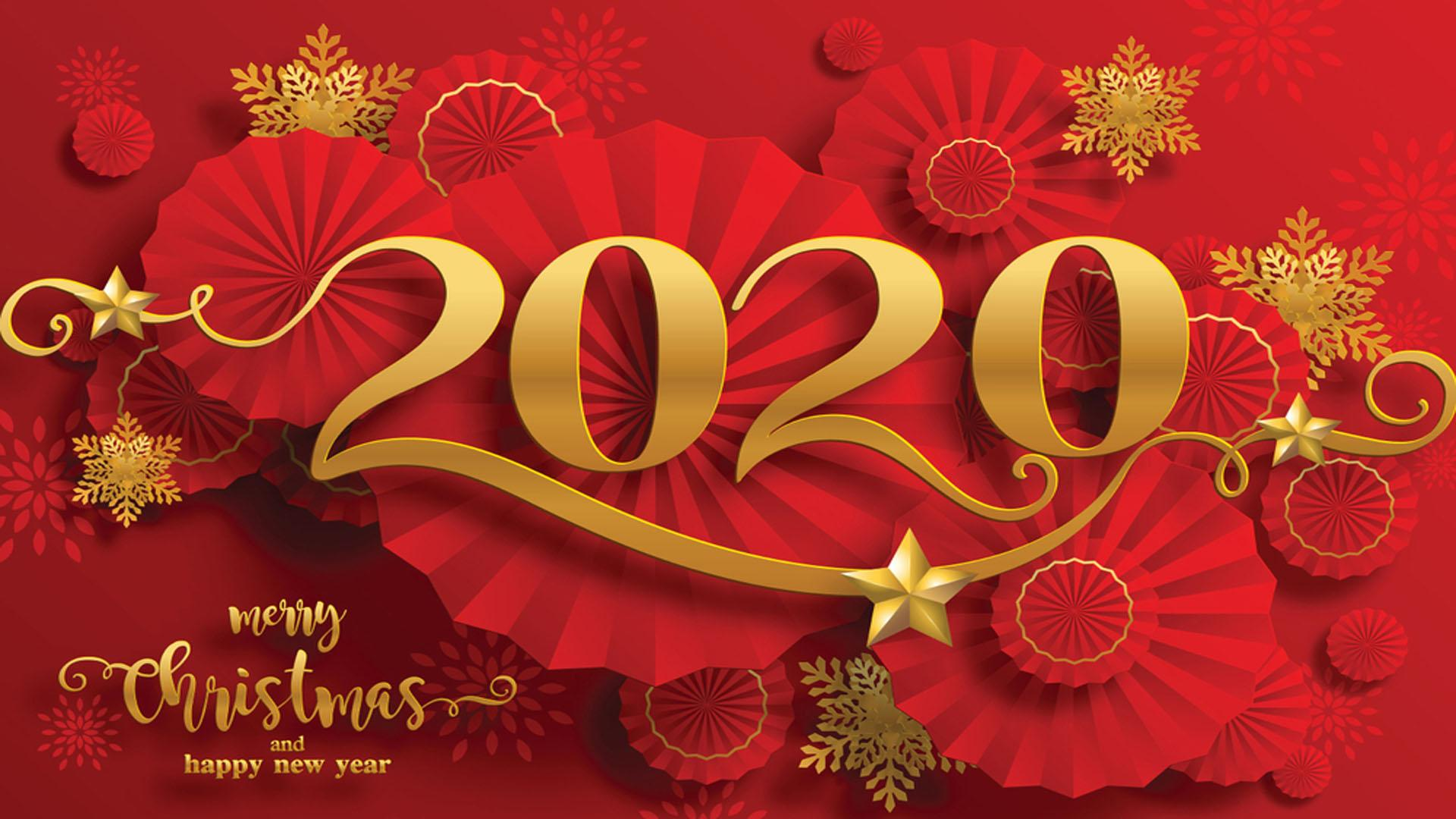 Chinese New Year 2020 Greeting Card For Mobile Phones Tablet