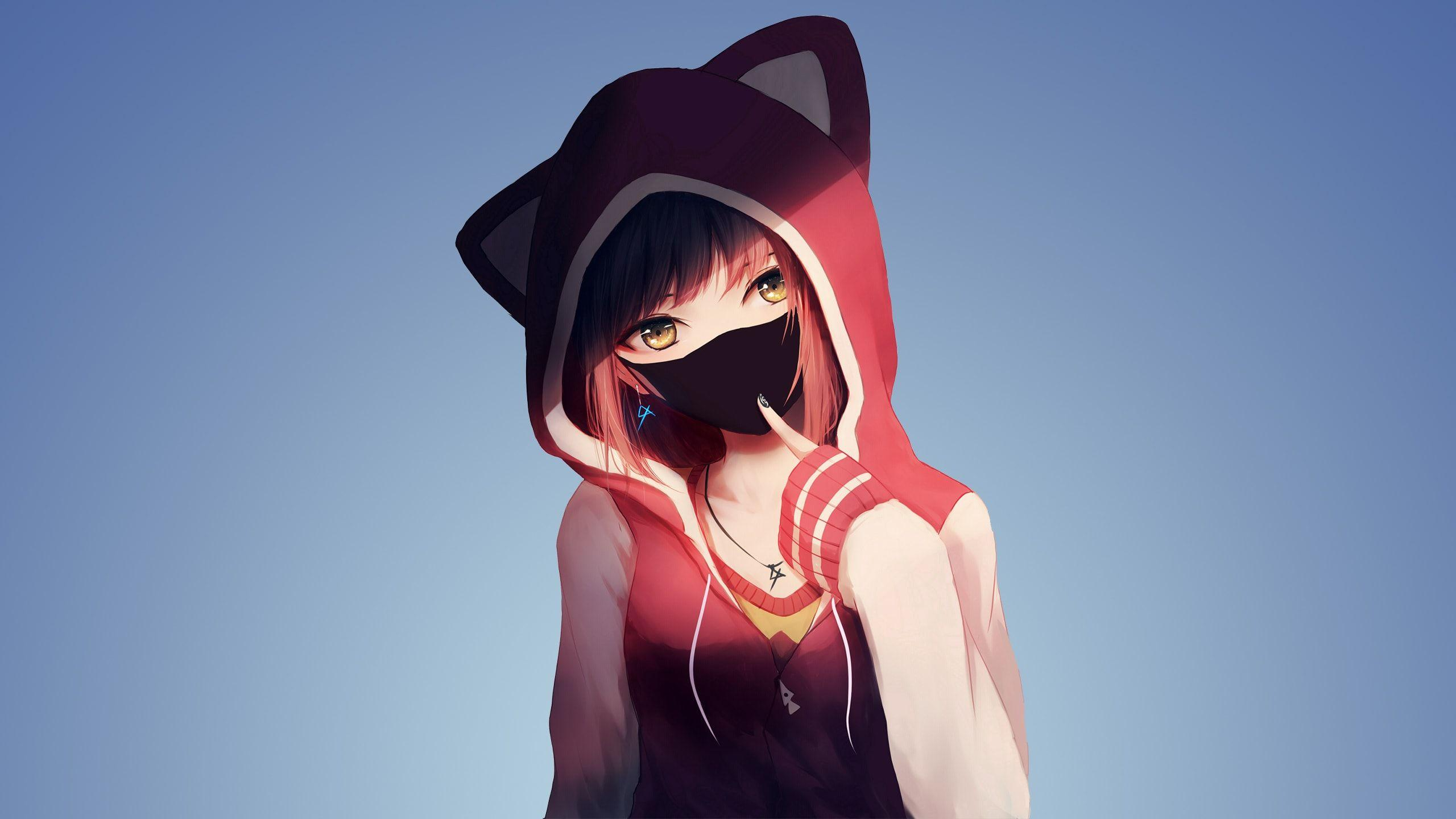 Anime Hoodie Wallpapers Wallpaper Cave
