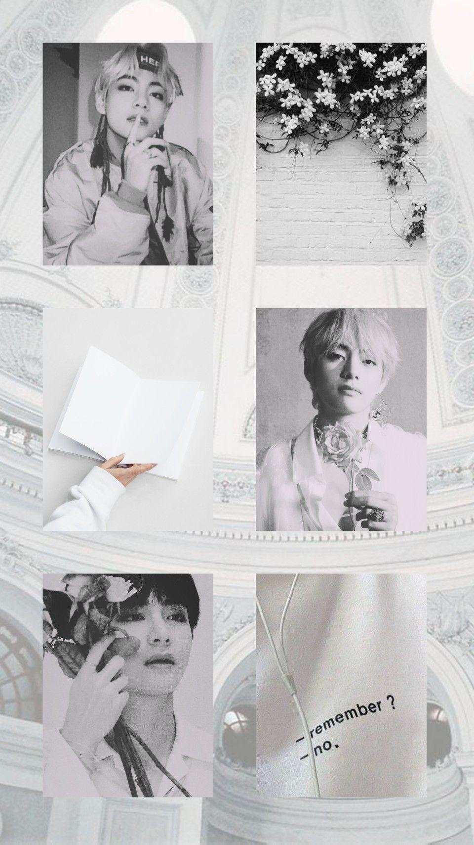 Wallpaper Kim Taehyung Collage