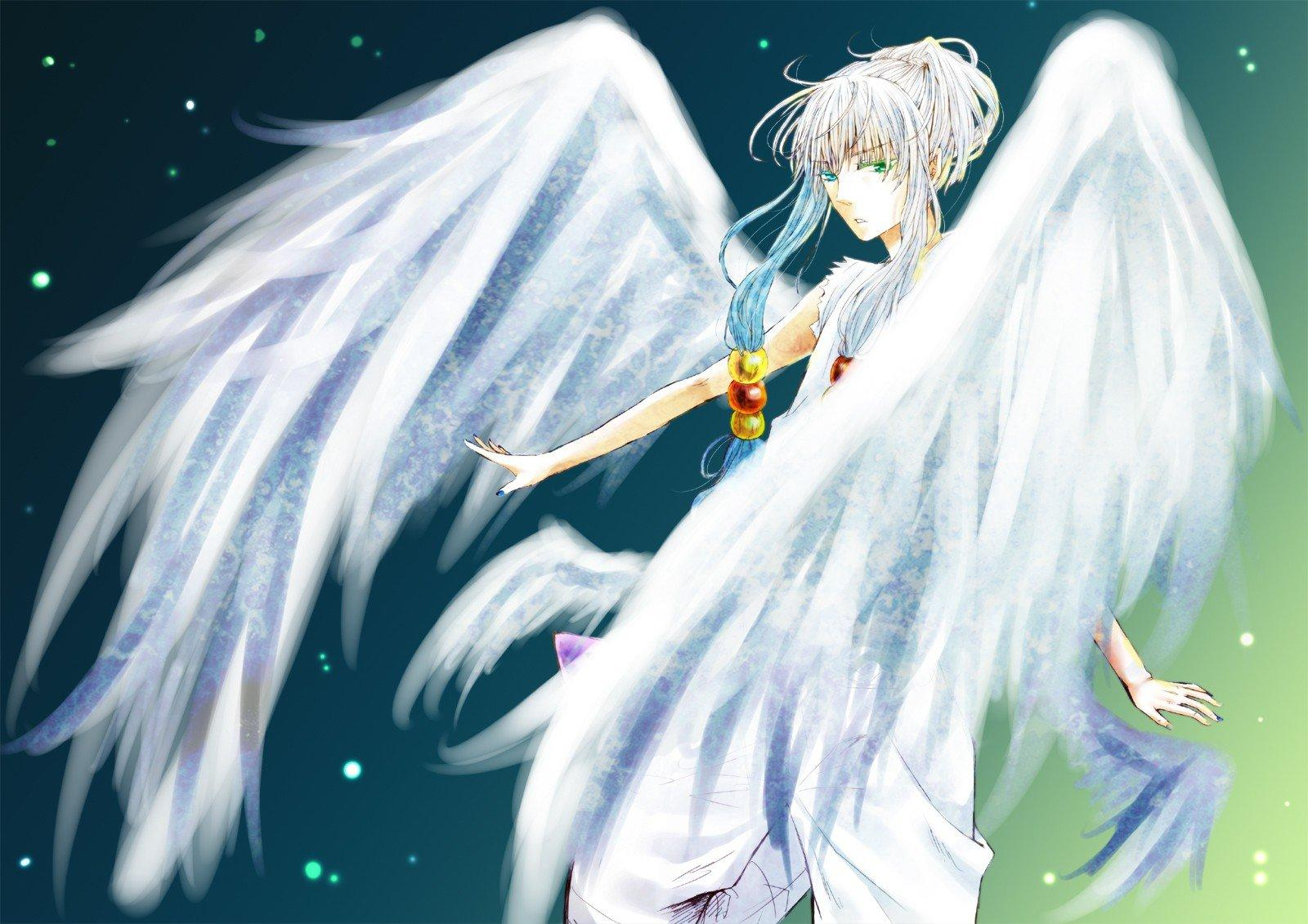 Angels Anime Boy Wallpapers Wallpaper Cave