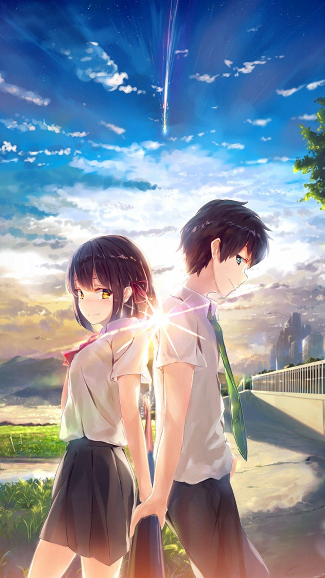 Boy And Girl Anime Cute Wallpapers - Wallpaper Cave