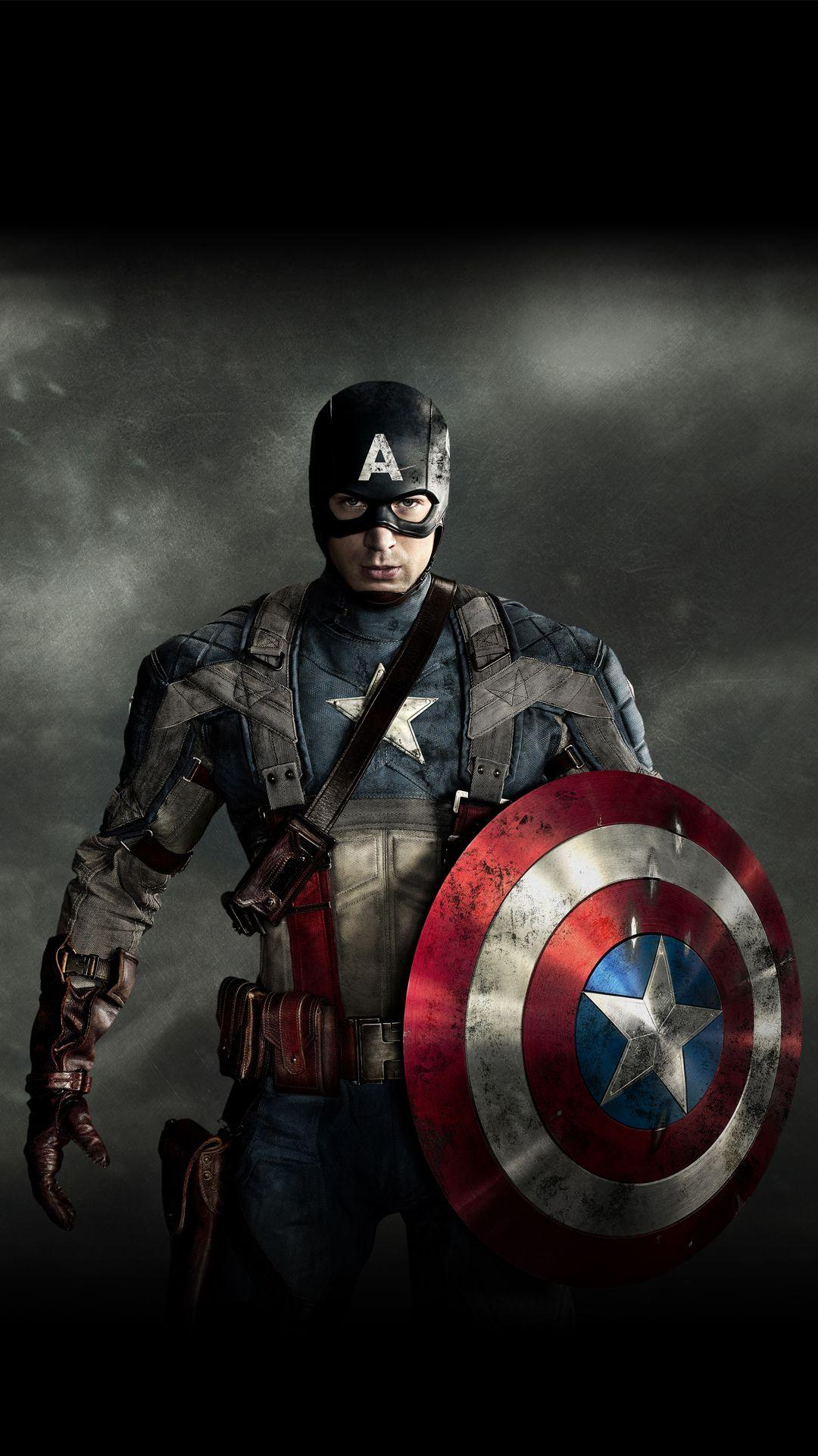 Captain America For Phone Wallpapers Wallpaper Cave