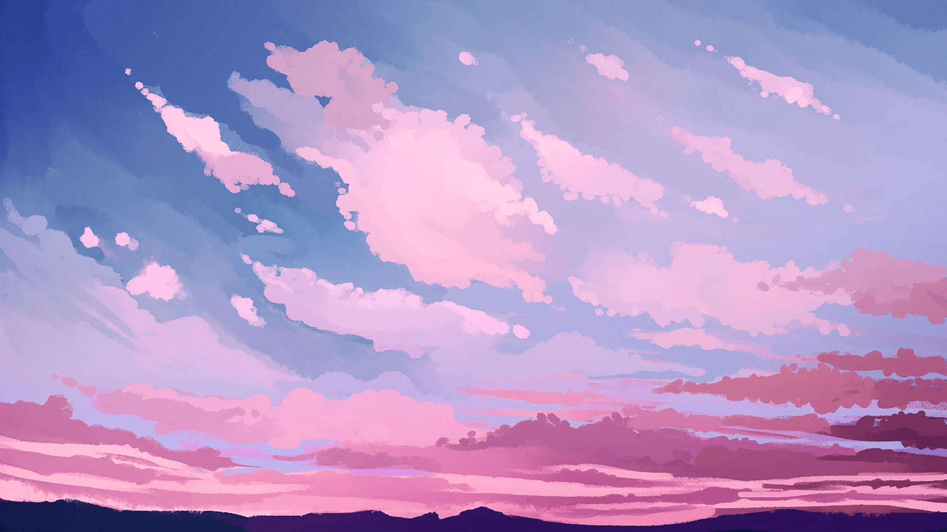 Pink Skies [1920x1080] in 2019