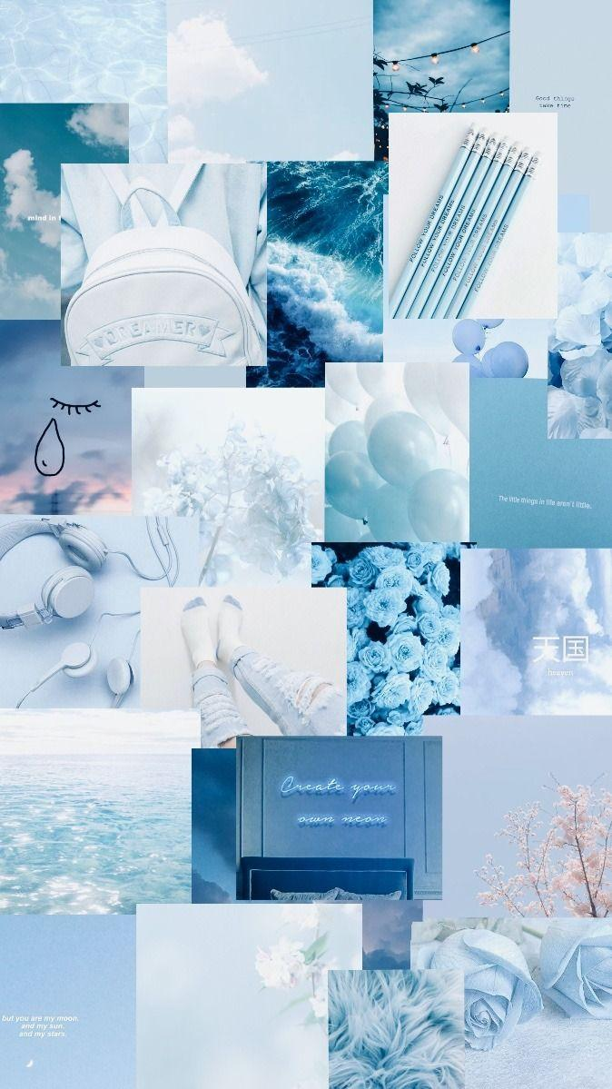 Light Aesthetic Blue Wallpapers - Wallpaper Cave