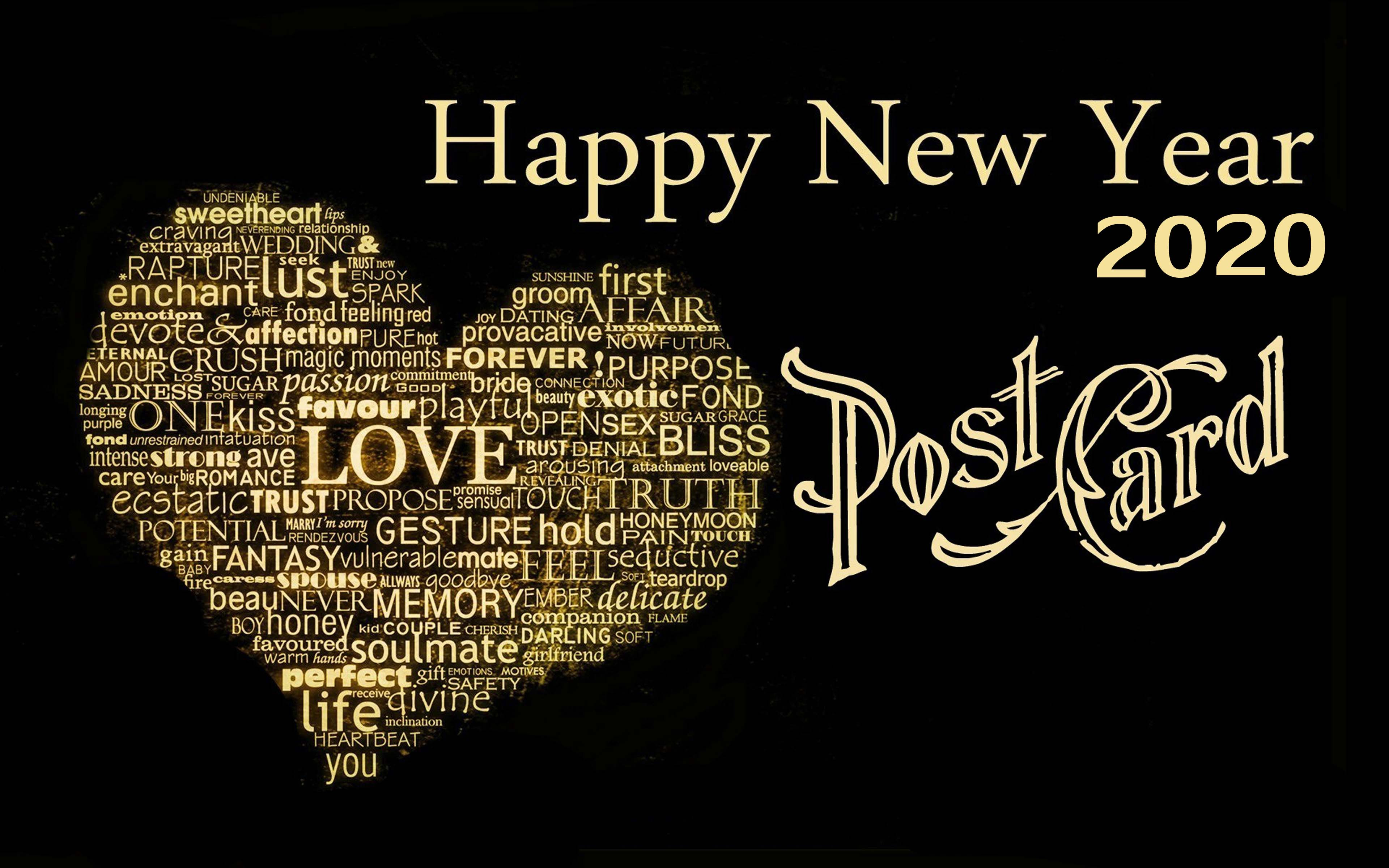 Happy New Year 2020 Love Wallpapers Wallpaper Cave