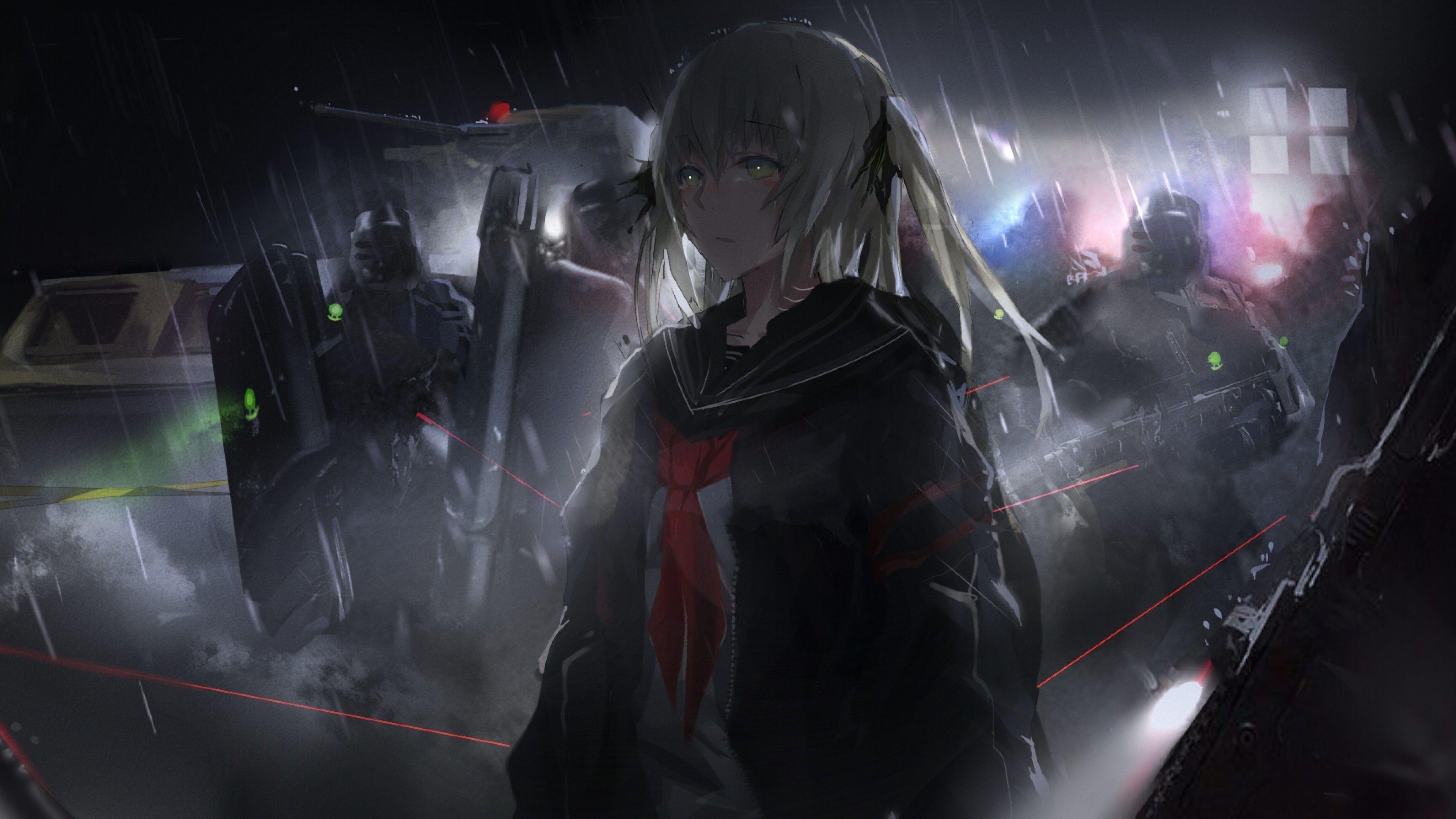 Anime Dark Theme Wallpapers - Wallpaper Cave