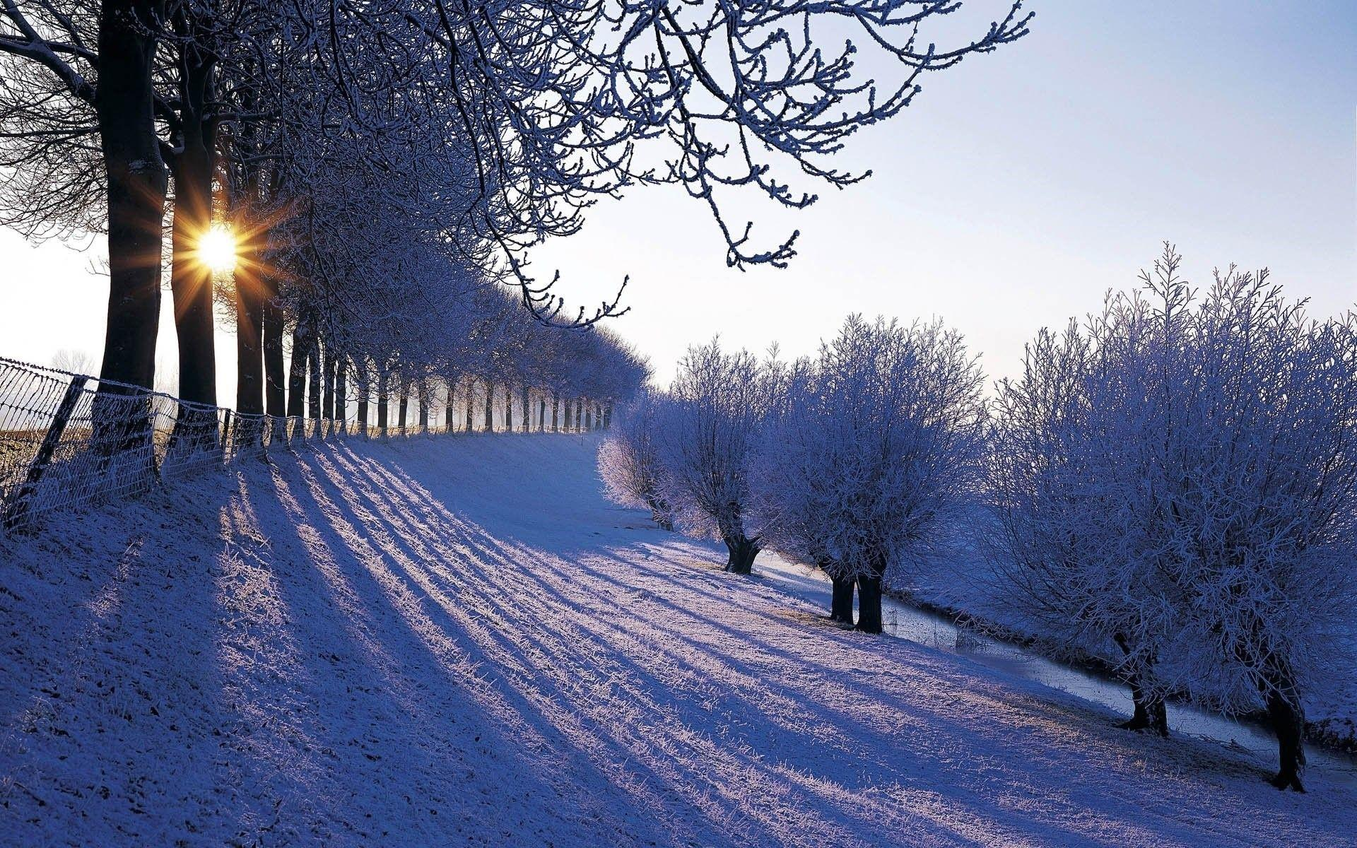 Country Winter Wallpapers