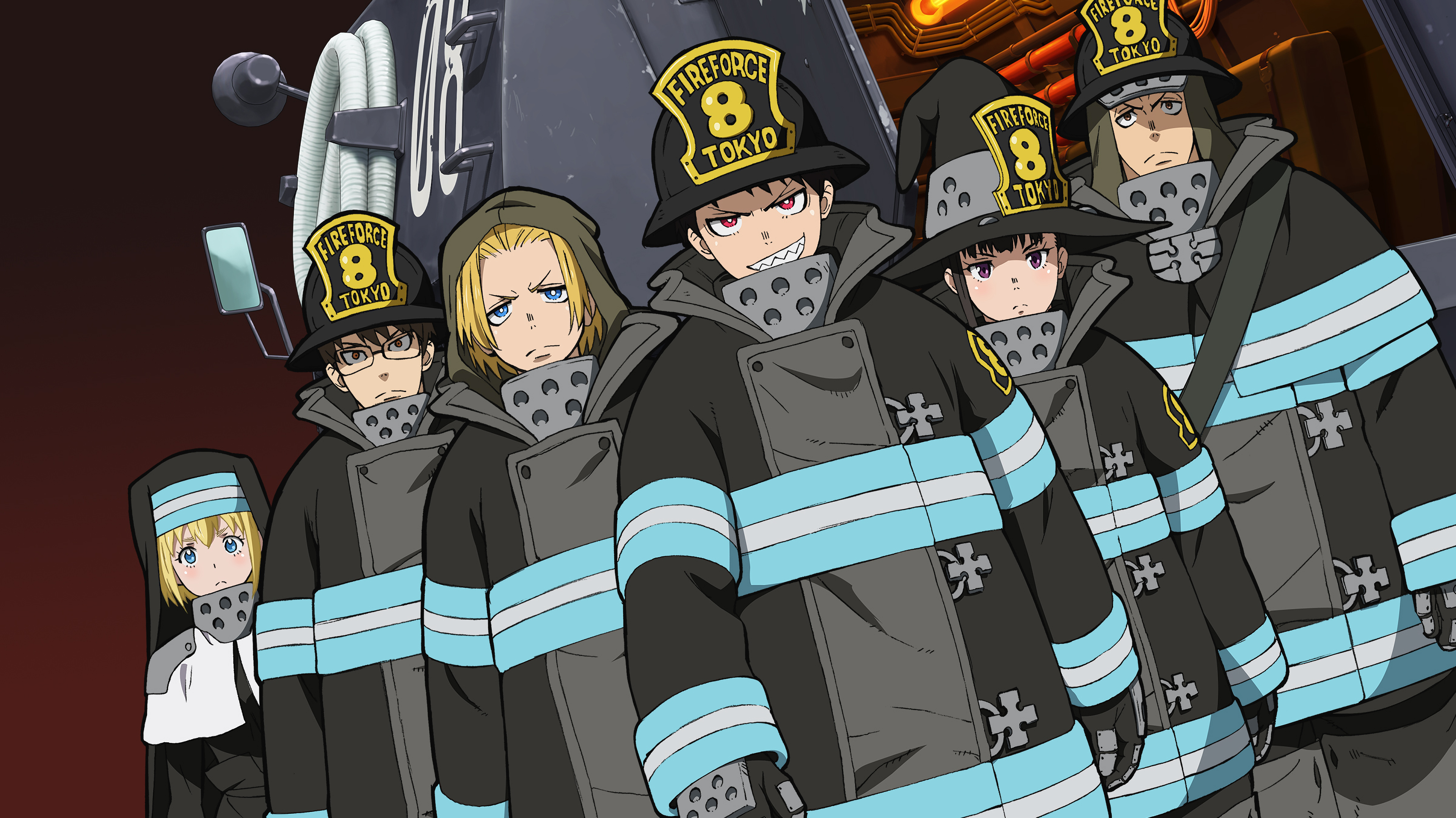 Fire Force Desktop Wallpapers Wallpaper Cave Autumn images backgrounds (25 wallpapers). fire force desktop wallpapers