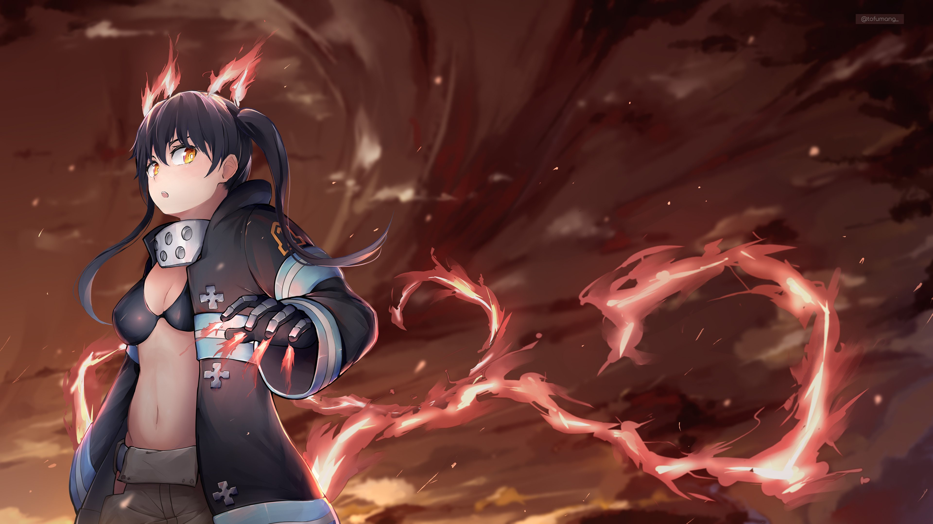 Fire Force Desktop Wallpapers Wallpaper Cave You can also upload and share your favorite fire force desktop wallpapers. fire force desktop wallpapers