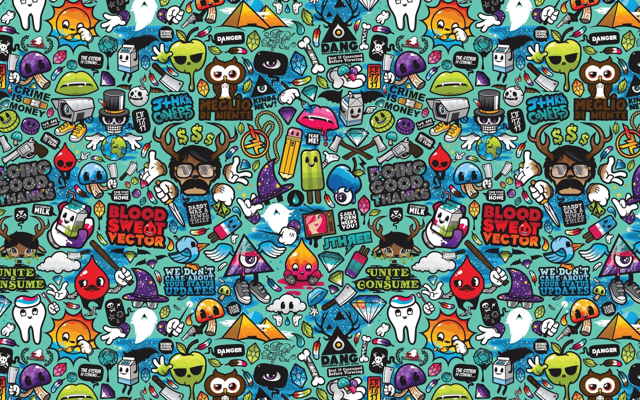 Sport Wallpaper Doodle: Doodle Art Wallpapers