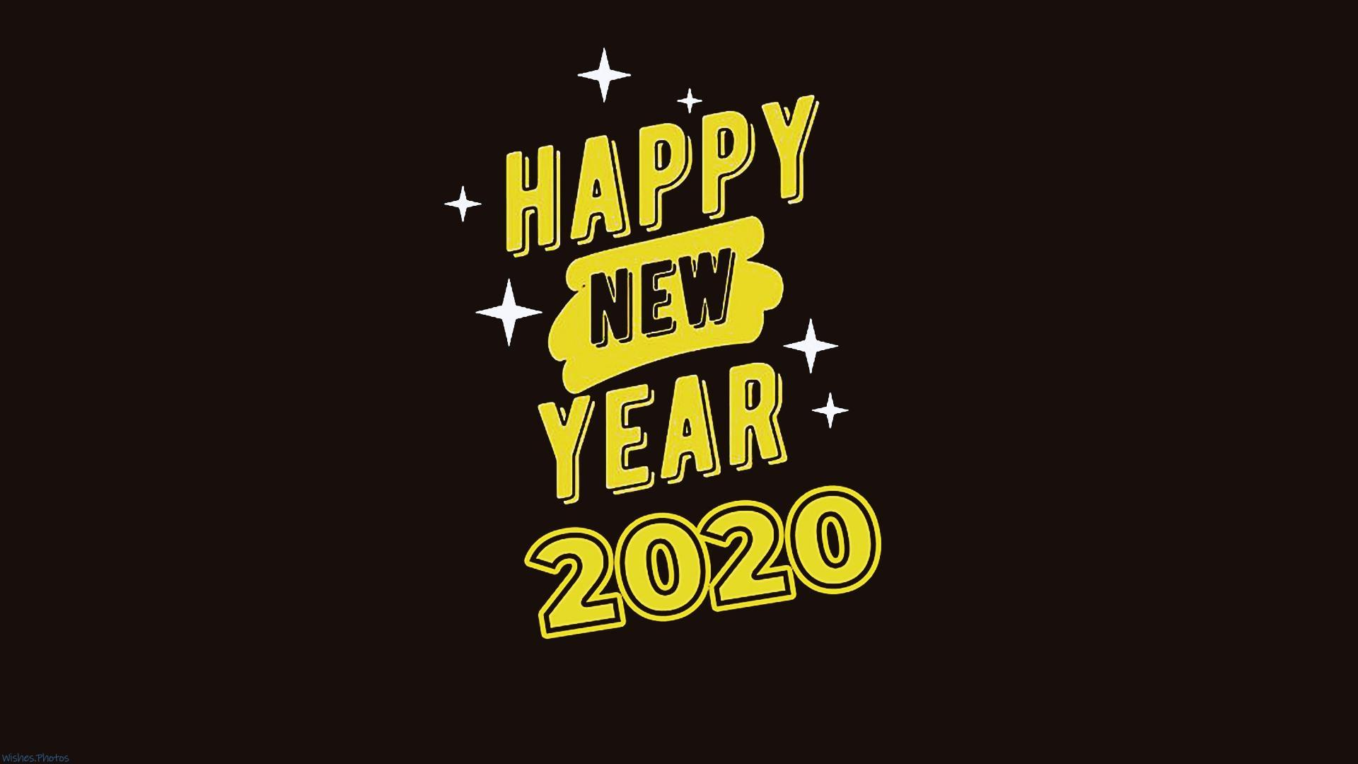 Happy New Year 2020 1920x1080 Wallpapers Wallpaper Cave