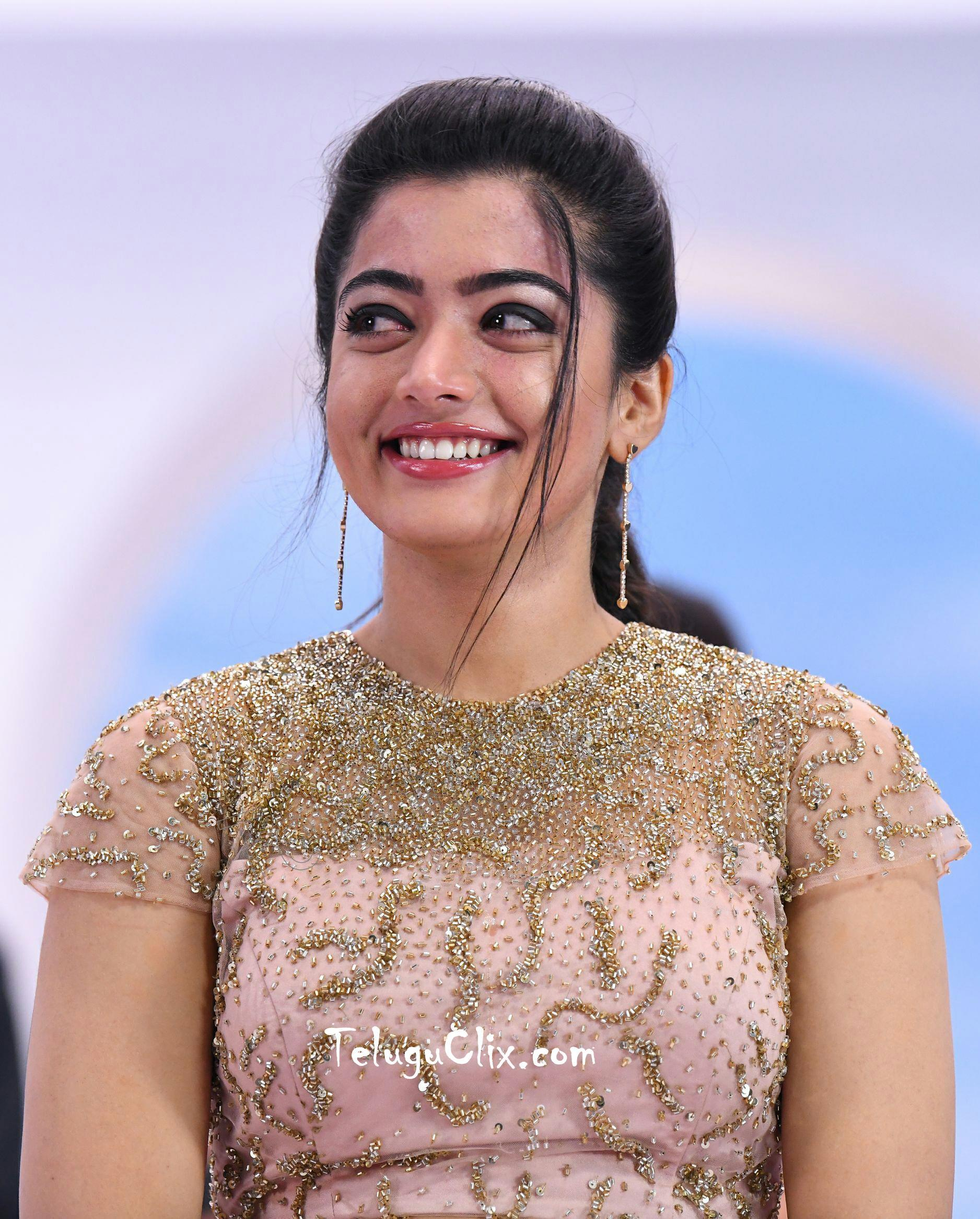 Rashmika Mandanna in From Devadas Movie HD HQ Photos image Pics