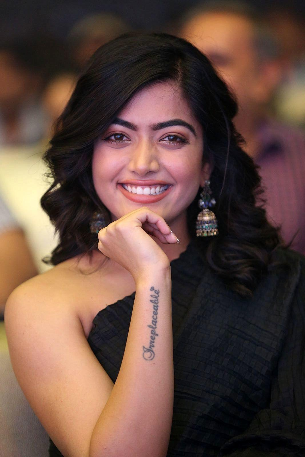 Rashmika Mandanna Photos Devadas Audio Launch