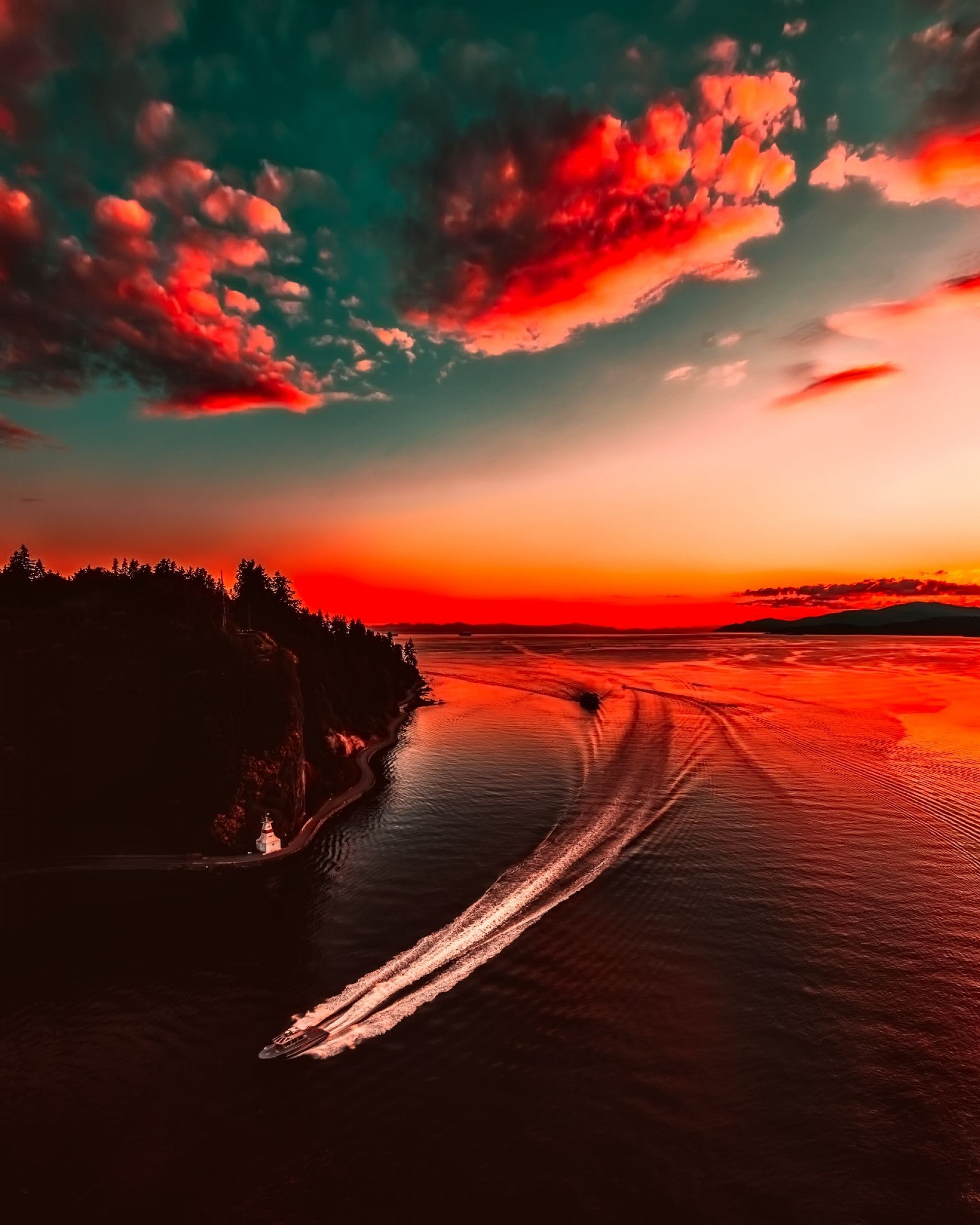 Sunset Sky Wallpapers