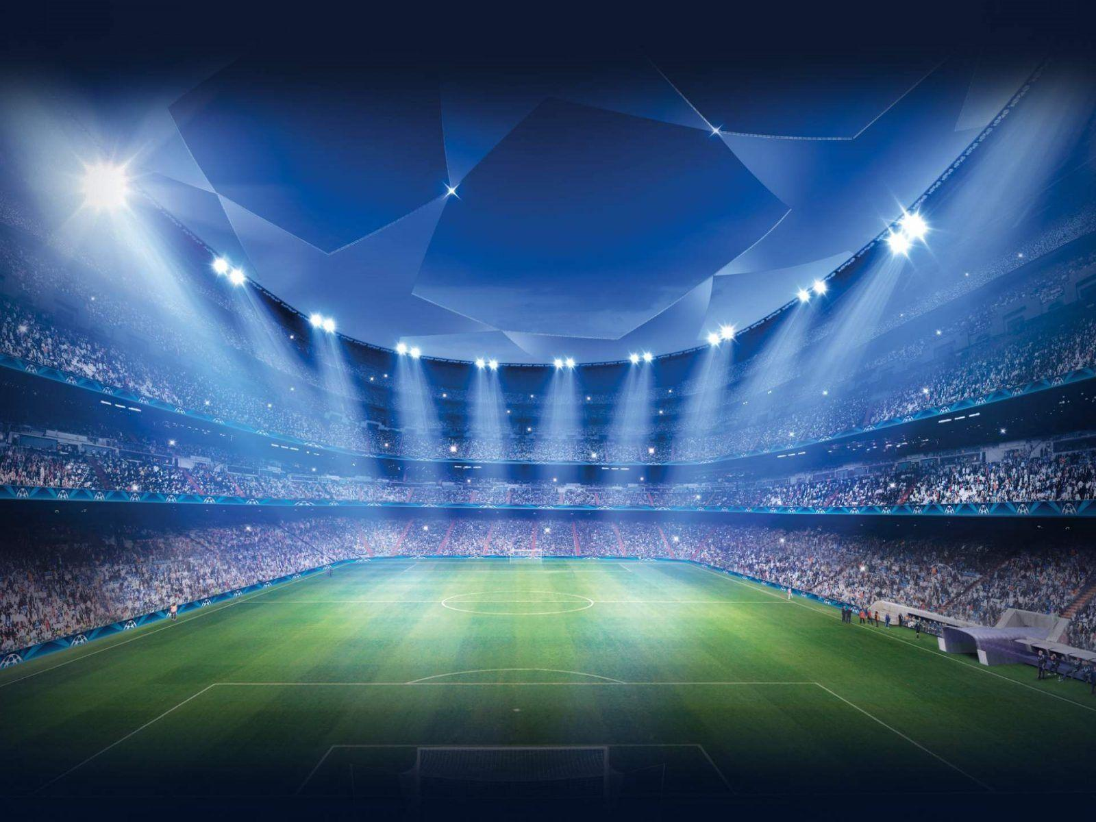 Download wallpapers UEFA Champions League, football stadium