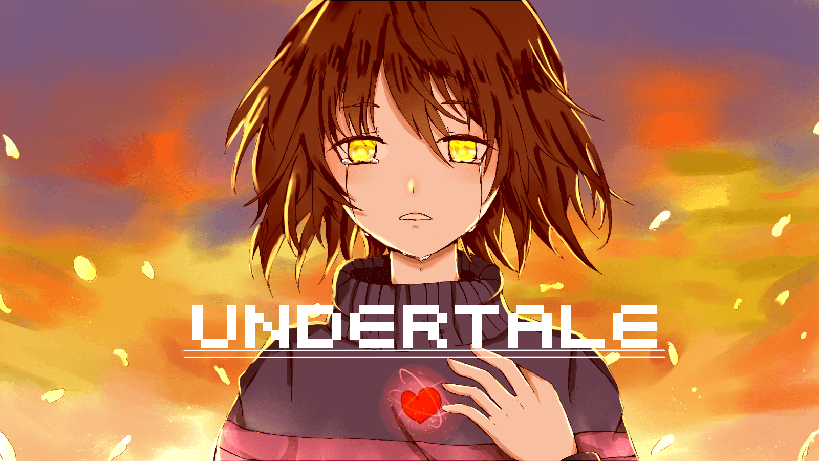Anime Undertale Wallpapers Wallpaper Cave