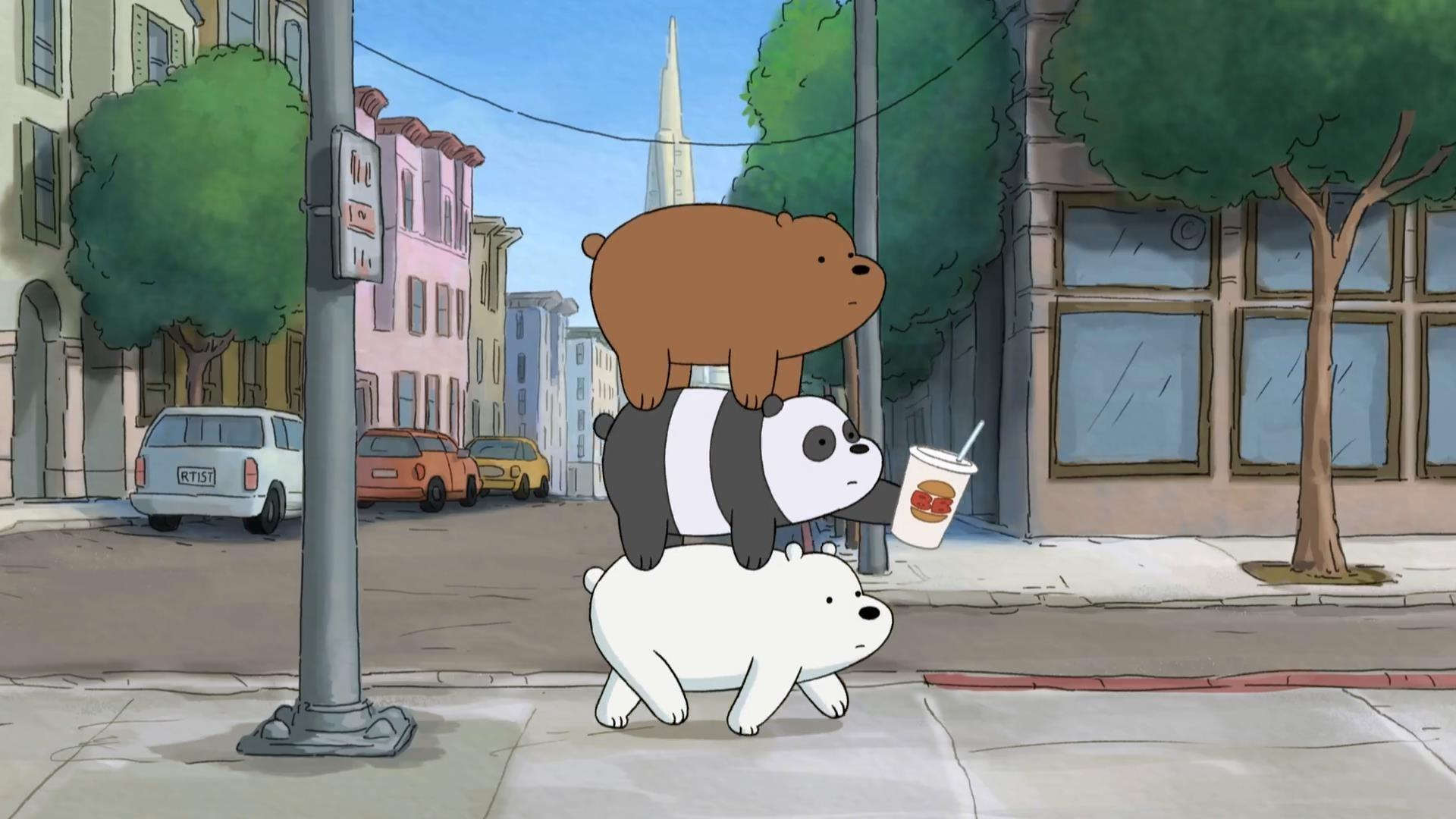 Laptop We Bare Bears Hd Wallpapers - Wallpaper Cave