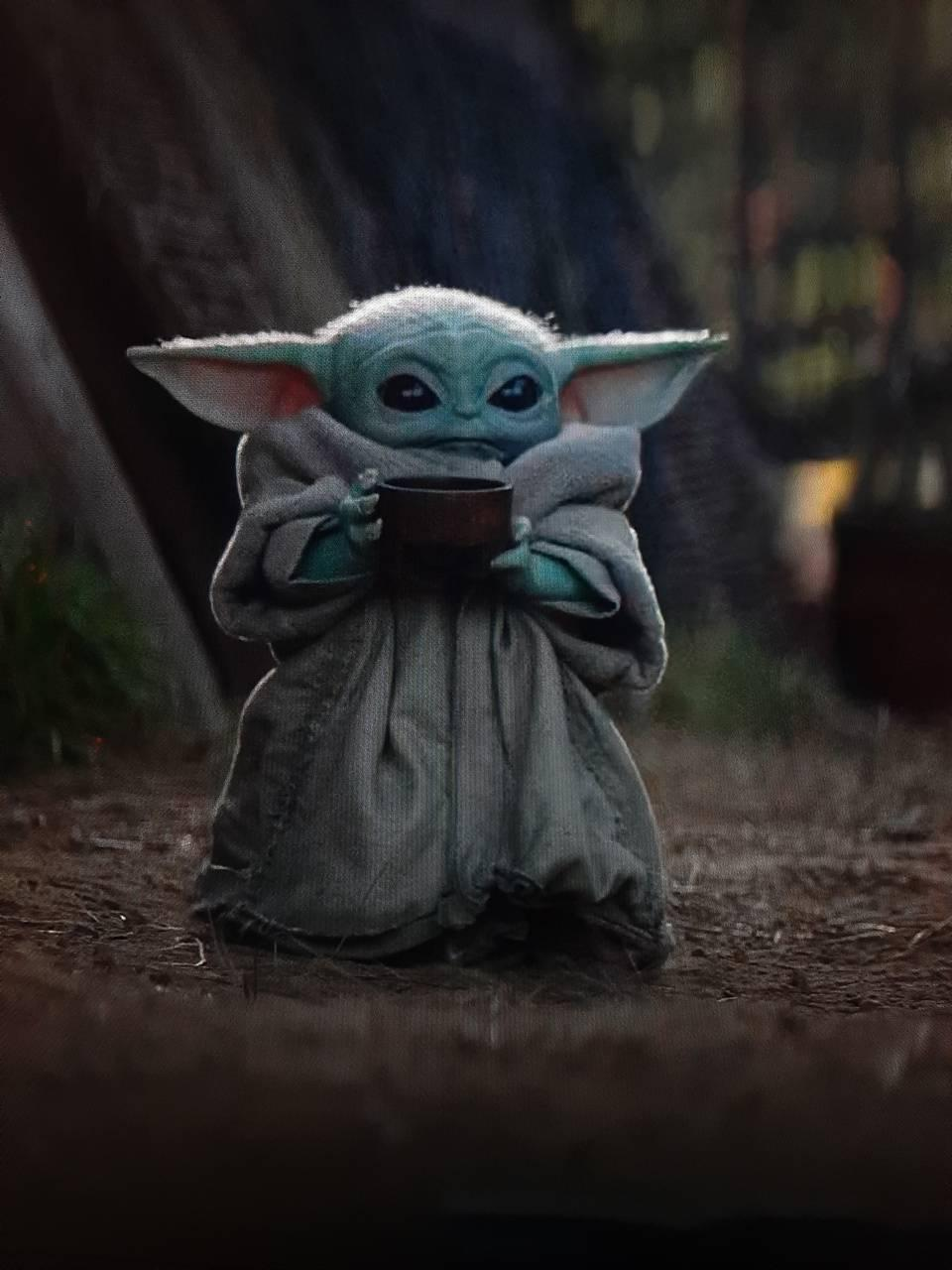 Cute Baby Yoda Wallpapers - Wallpaper Cave