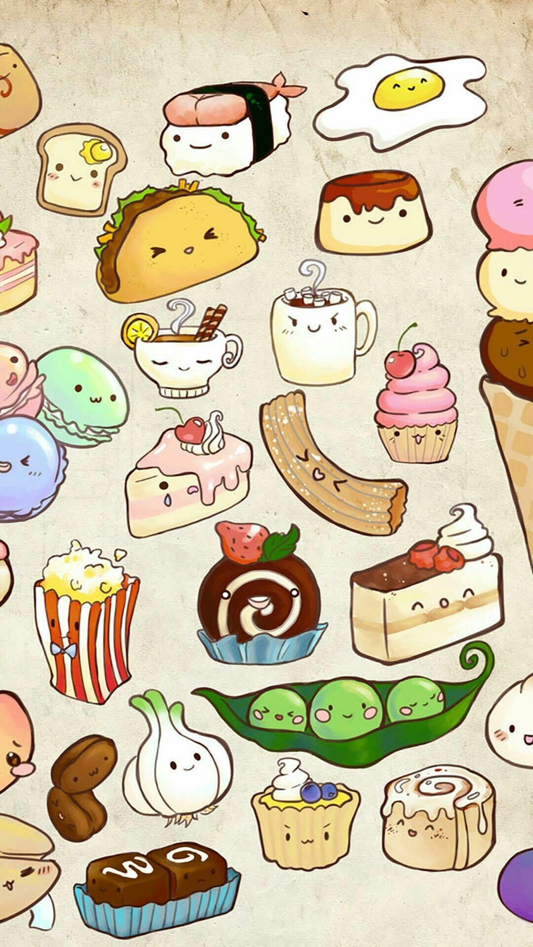 aesthetic food wallpapers