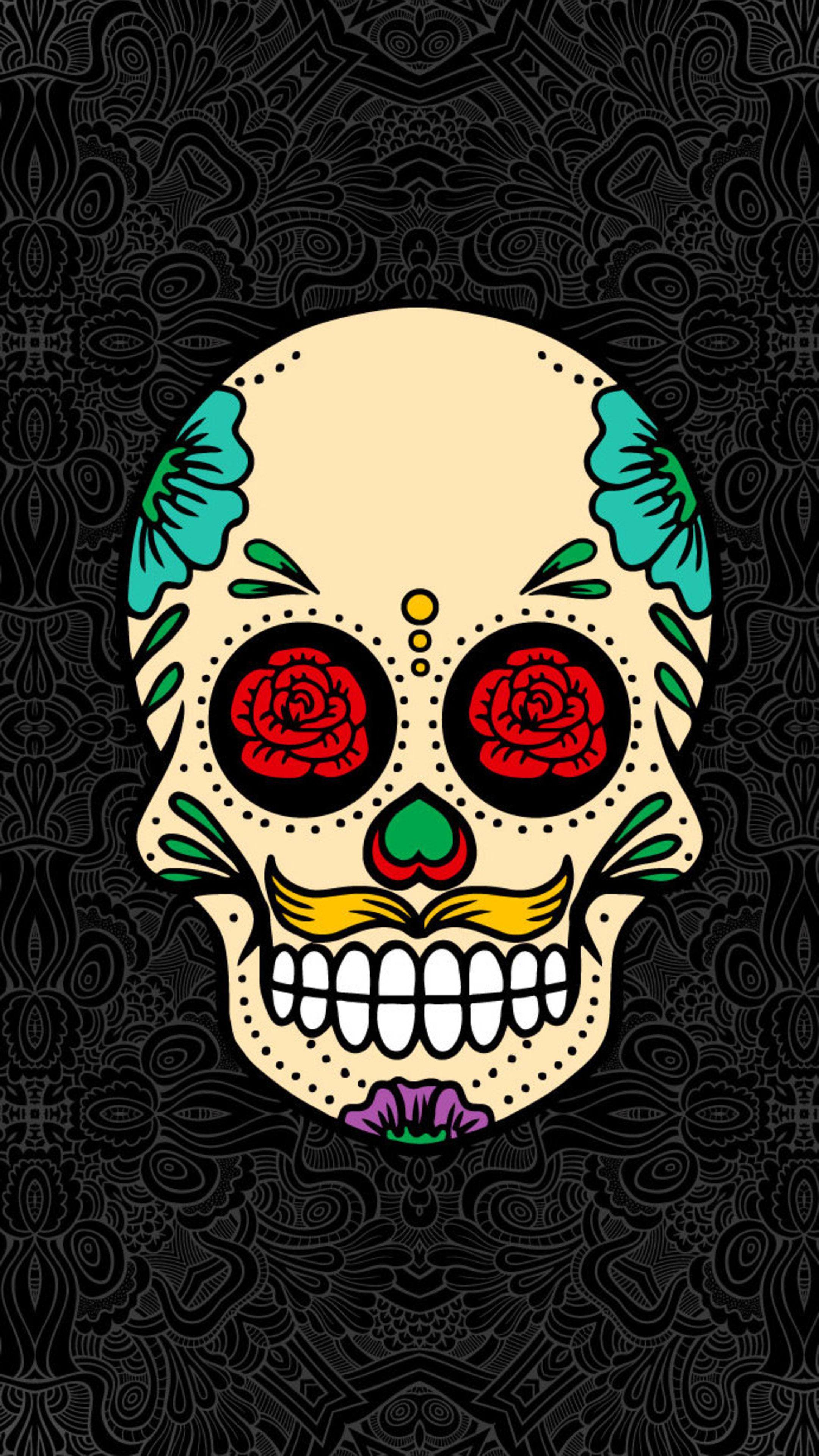 Skull 4k Iphone Wallpapers Wallpaper Cave