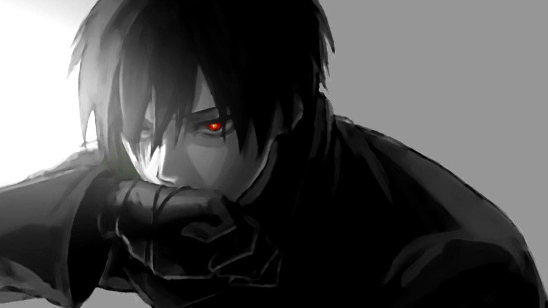 Hd Dark Anime Boy Wallpapers Wallpaper Cave
