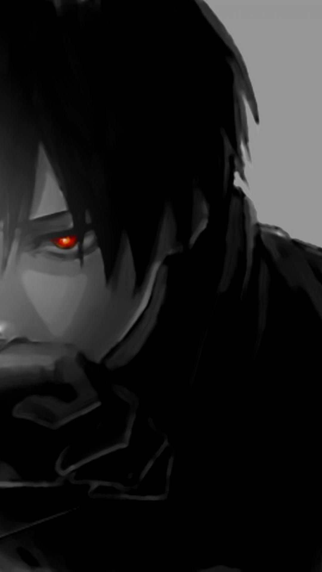 Black Anime Boy Wallpapers Wallpaper Cave
