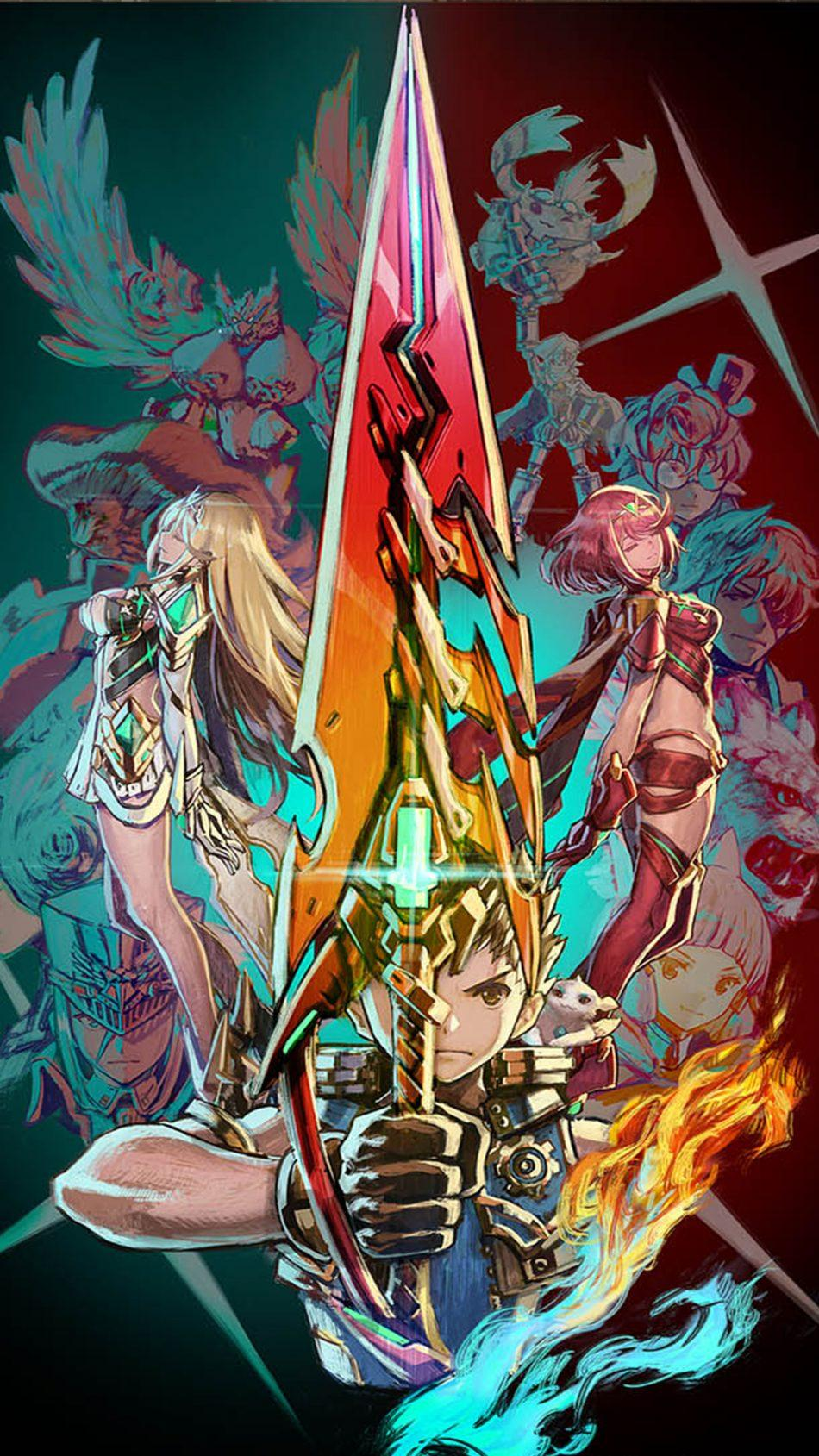 Xenoblade Chronicles 2 Android Wallpapers Wallpaper Cave