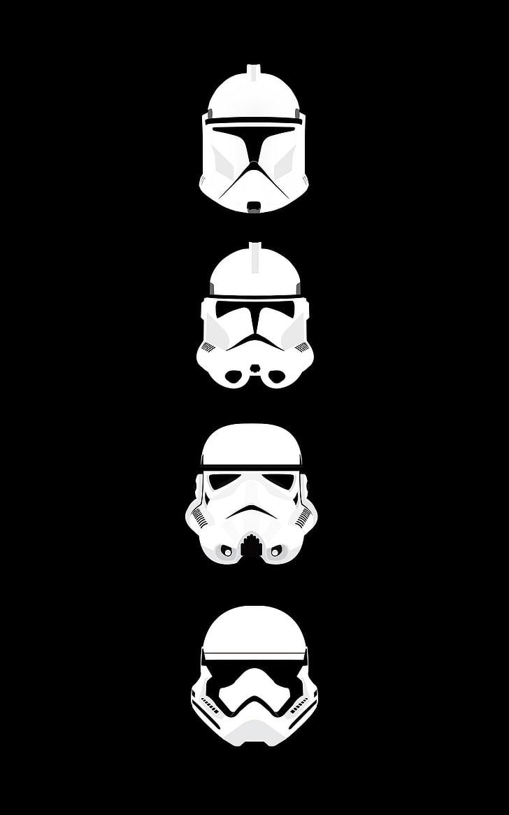 Star Wars Trooper Helmet Wallpapers Wallpaper Cave