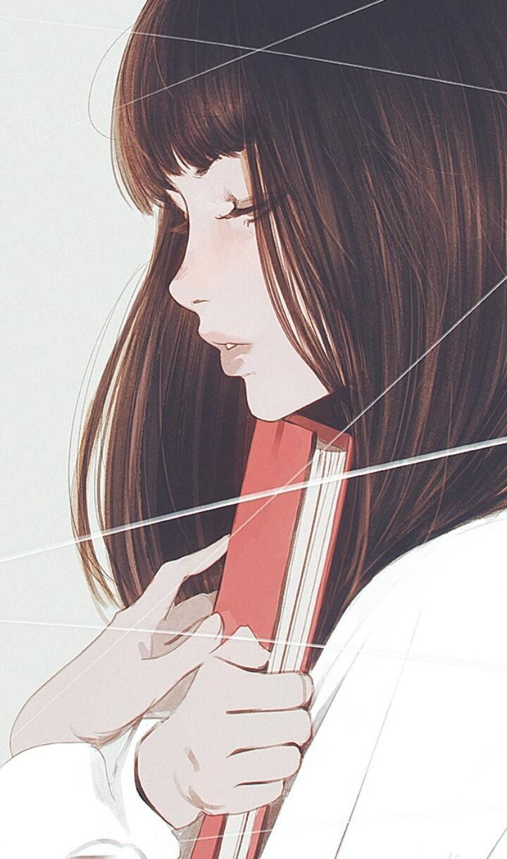 Korean Girl Drawing Anime Wallpapers - Wallpaper Cave